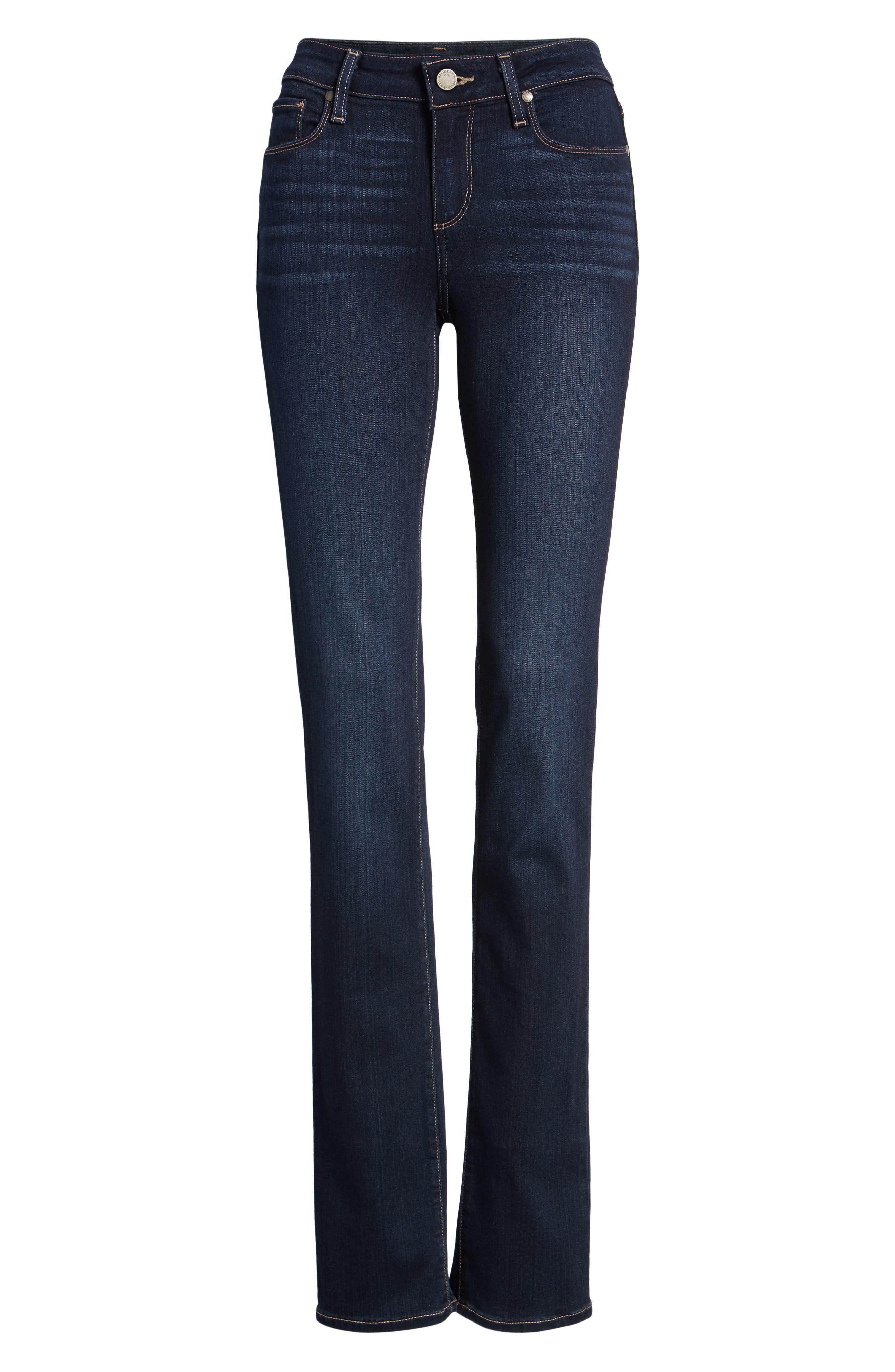 Transcend - Skyline Straight Leg Jeans,                             Alternate thumbnail 7, color,                             GARDENA