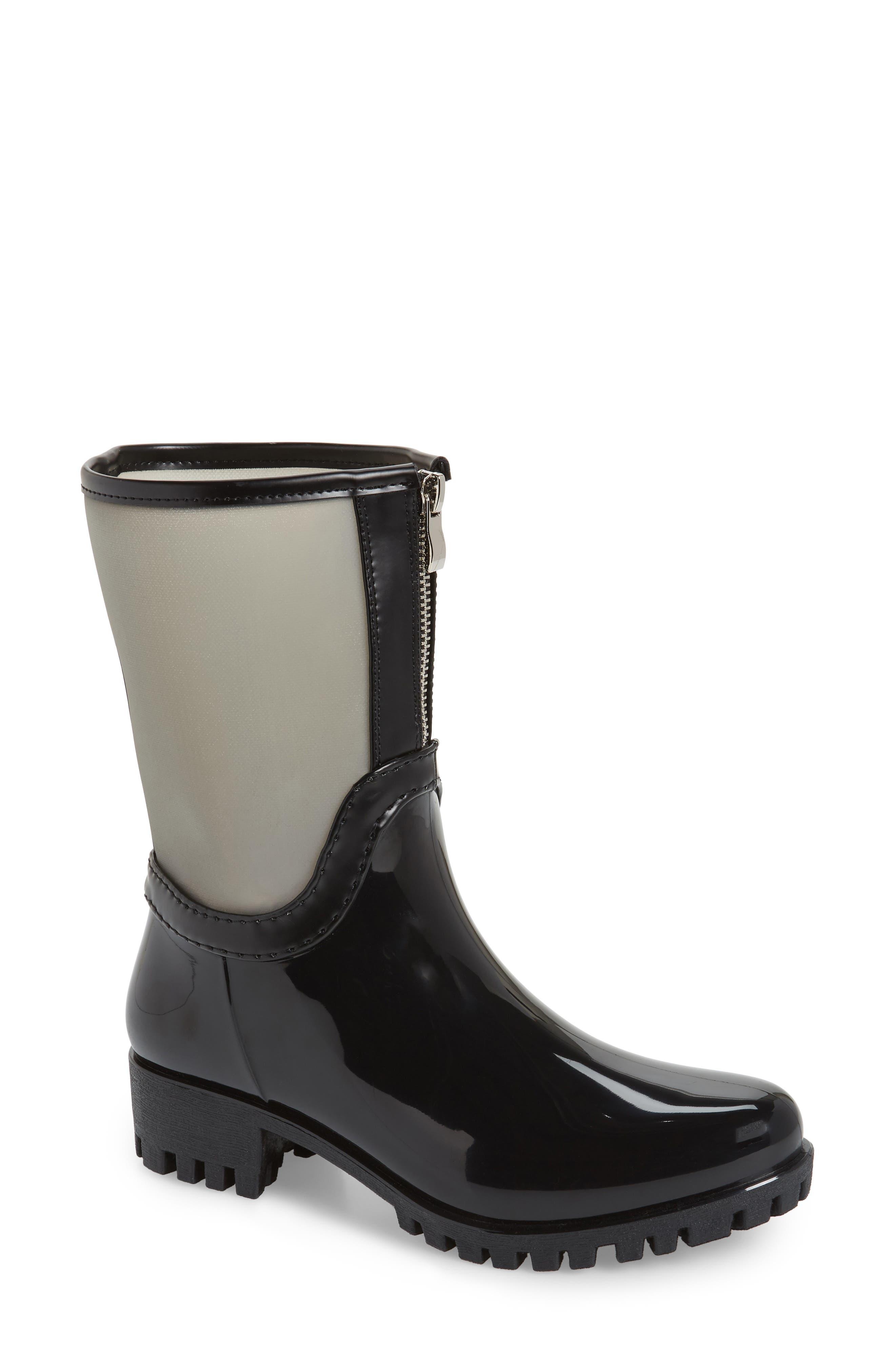 Dryden Sheer Waterproof Boot,                         Main,                         color, GREY FABRIC