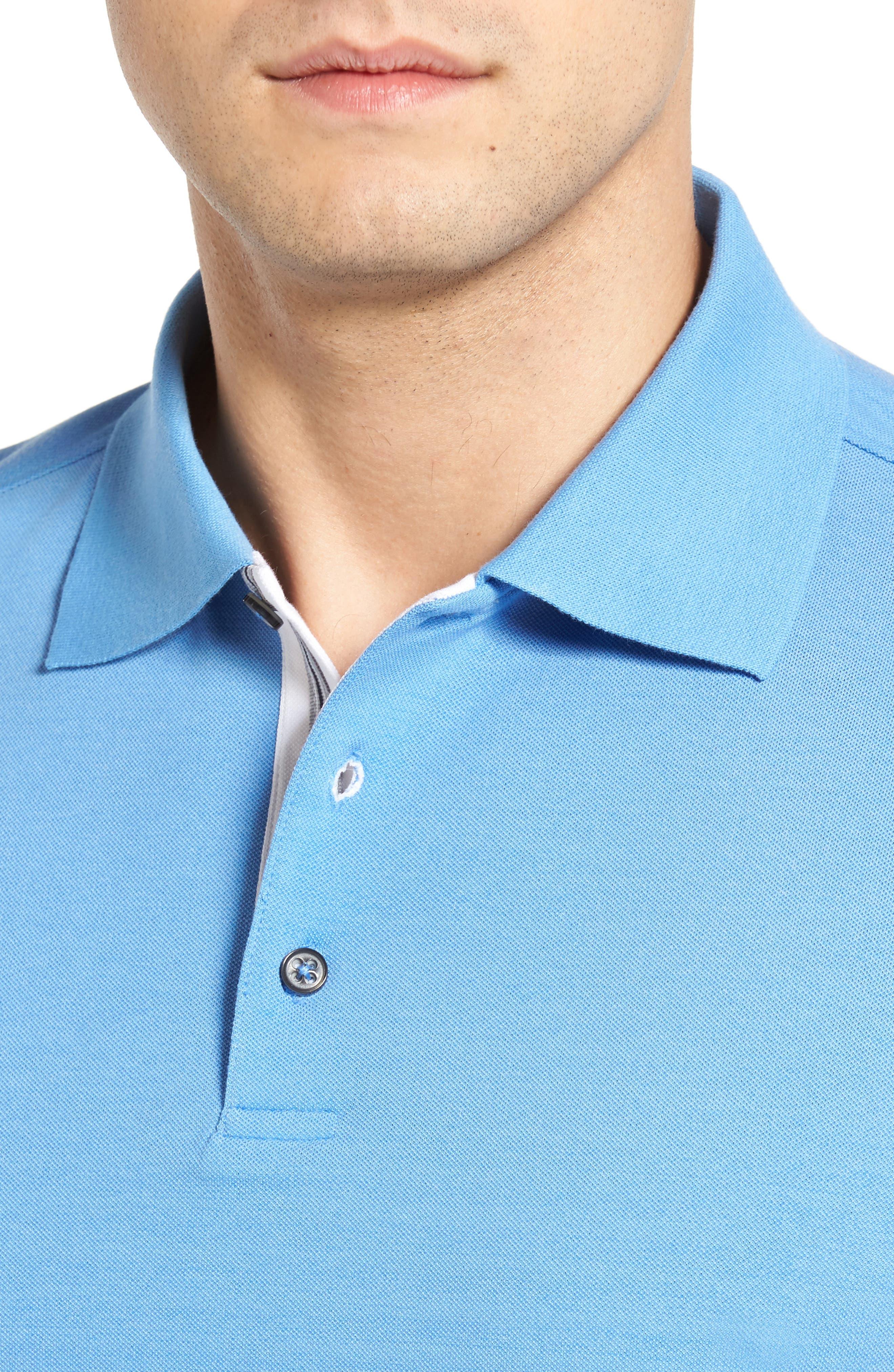 Solid Piqué Golf Polo,                             Alternate thumbnail 27, color,