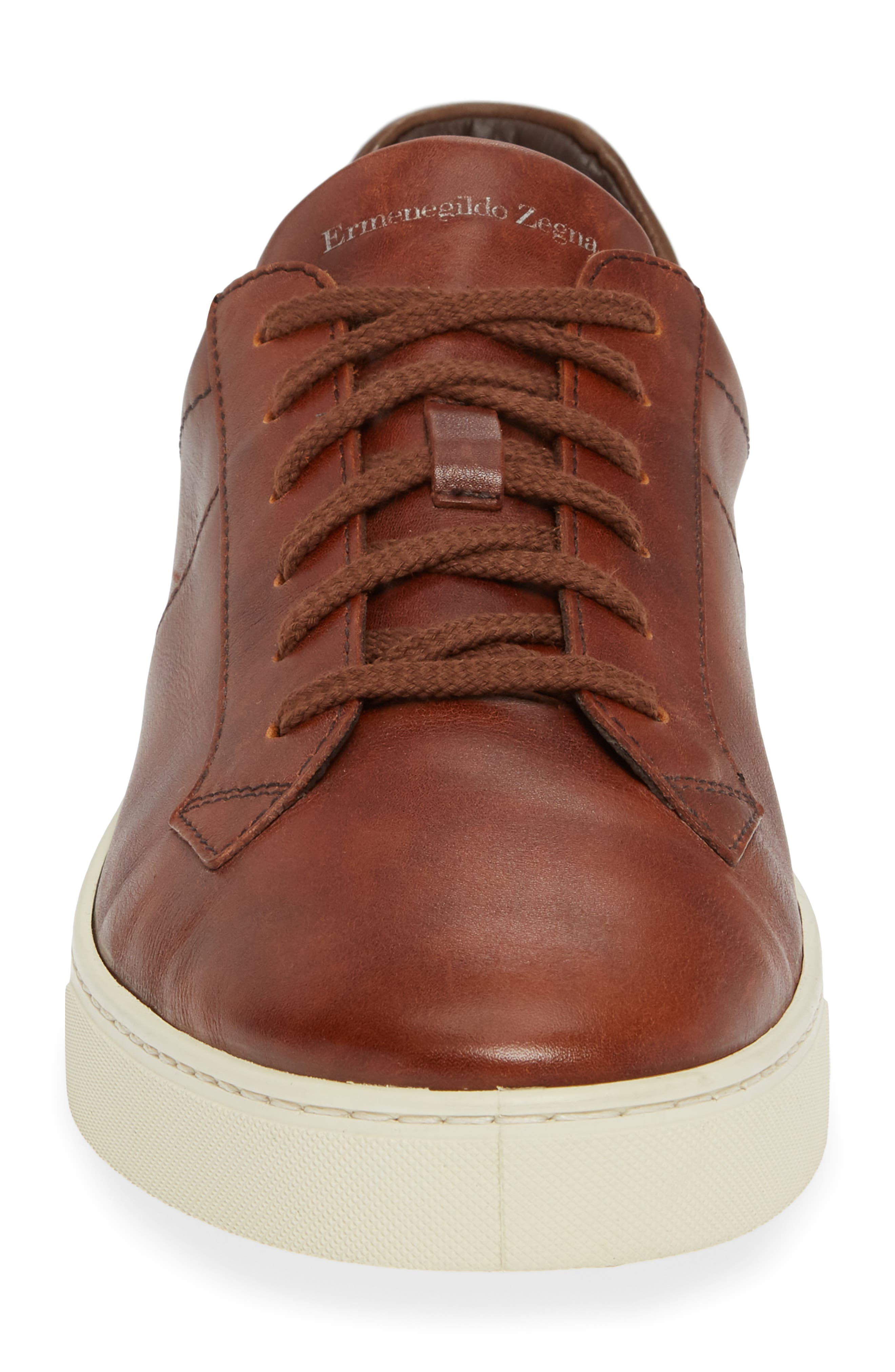 Sneaker,                             Alternate thumbnail 4, color,                             BROWN