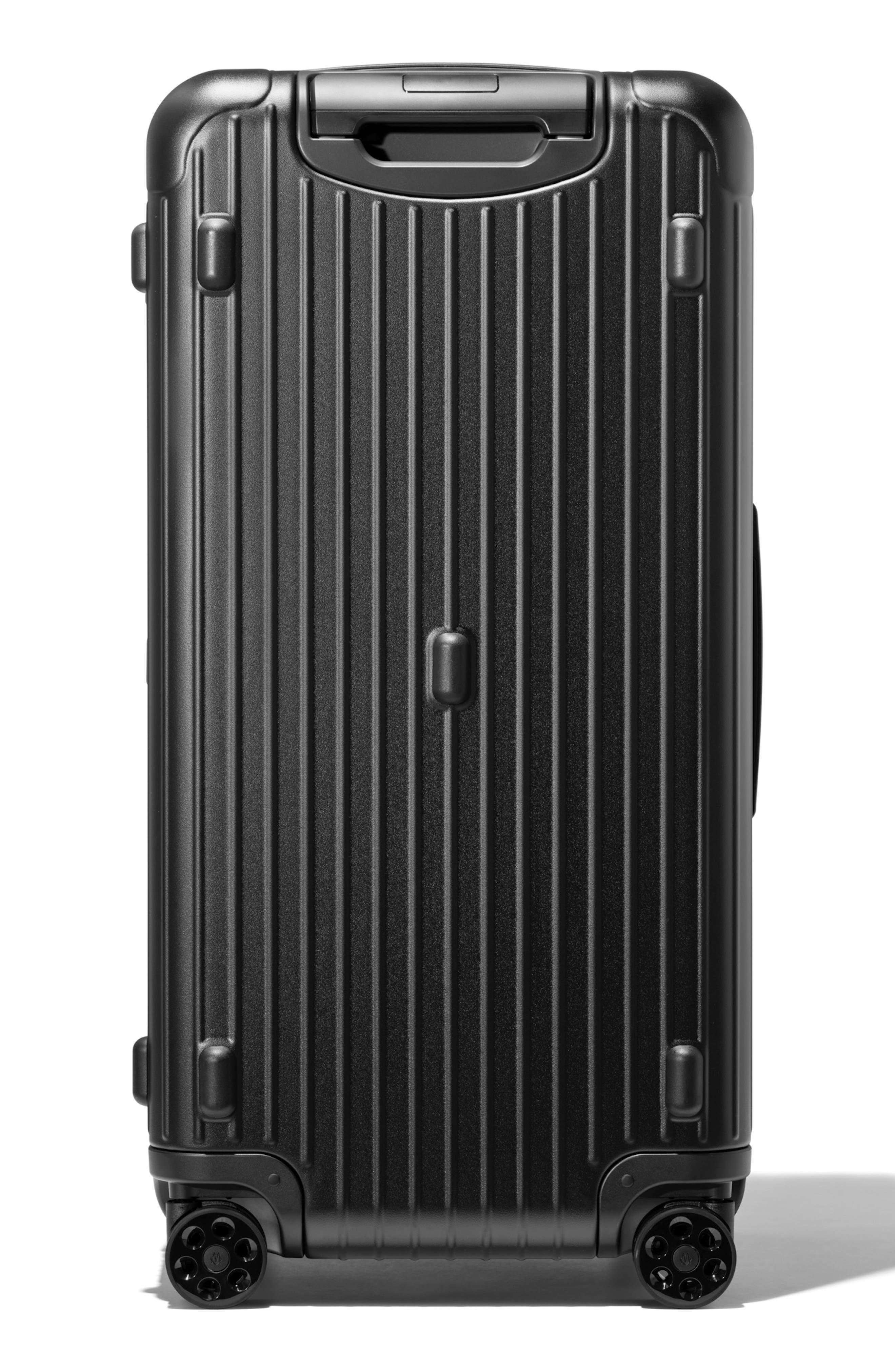 Essential Trunk Plus 32-Inch Packing Case,                             Alternate thumbnail 3, color,                             MATTE BLACK