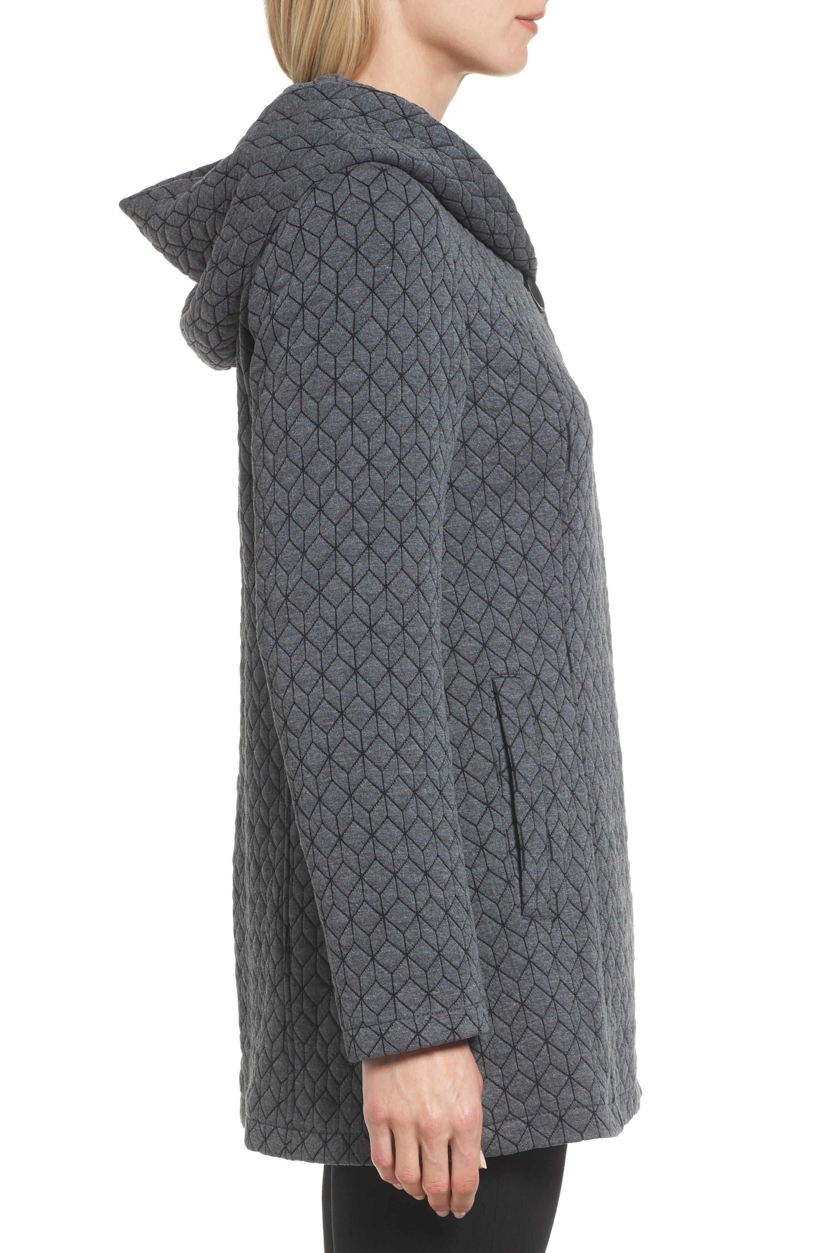 Cozy Knit Coat,                             Alternate thumbnail 3, color,                             020