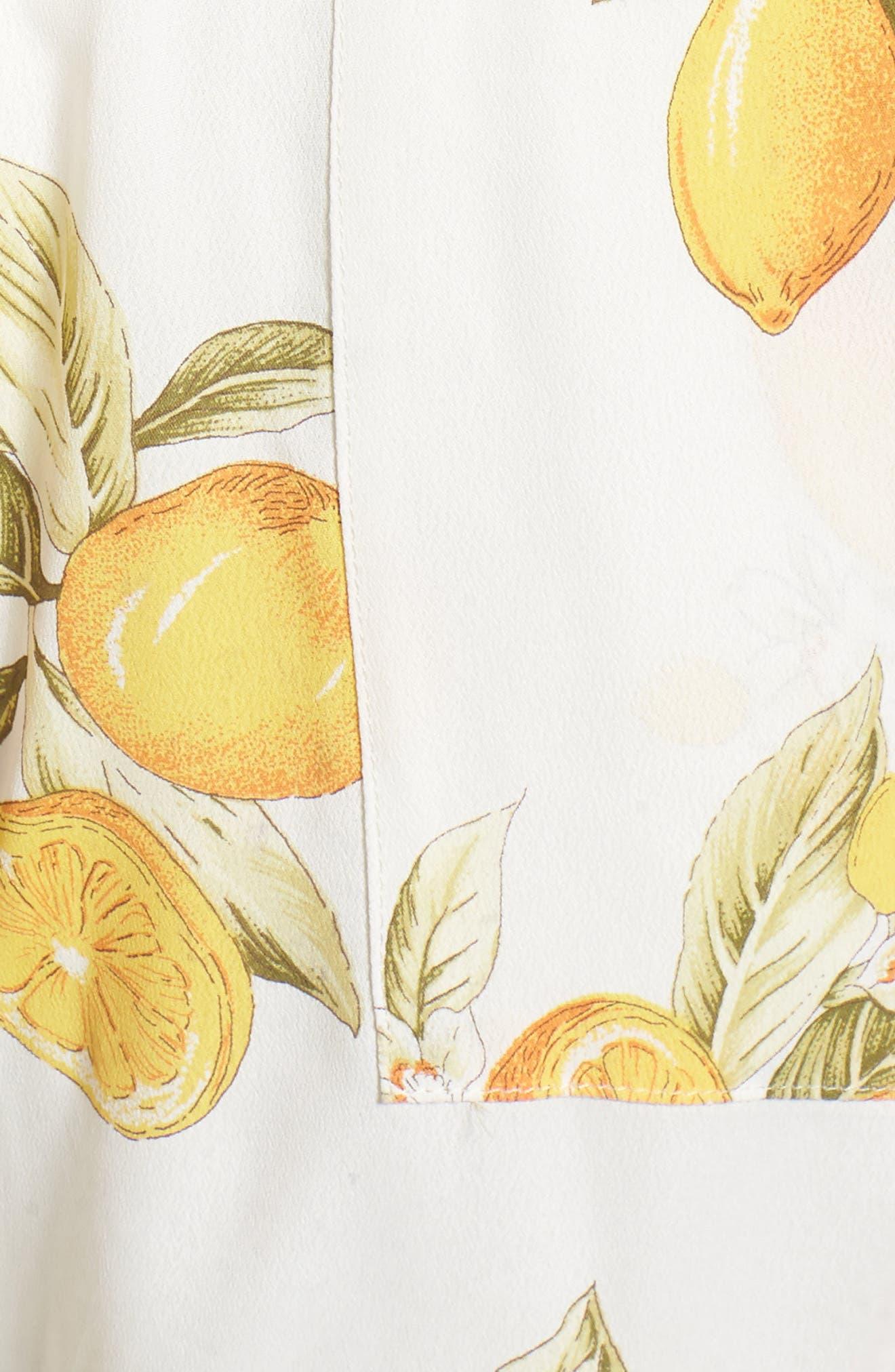 Limonada Crop Jumpsuit,                             Alternate thumbnail 5, color,                             700