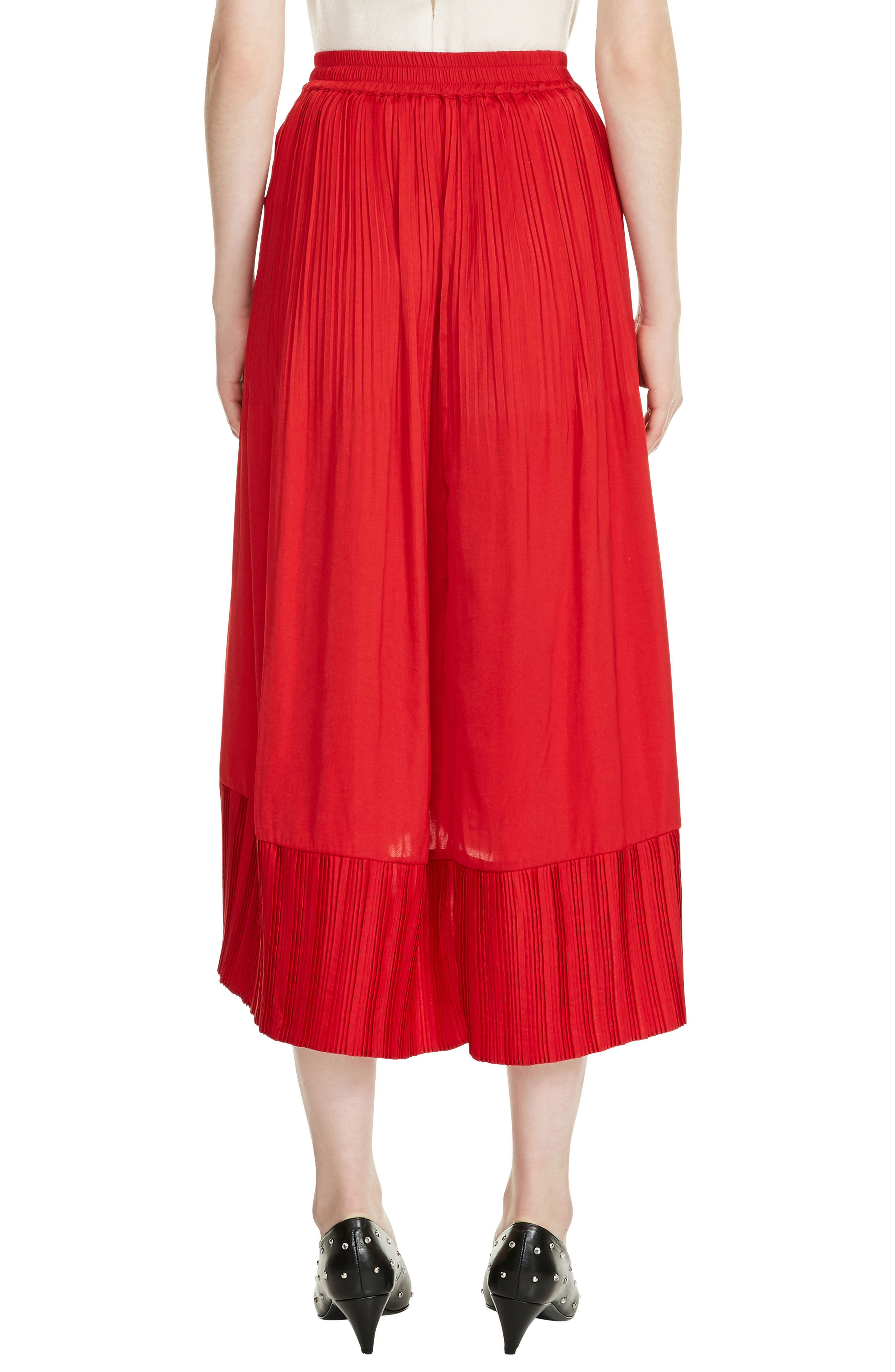 Jonette Faux Wrap Midi Skirt,                             Alternate thumbnail 2, color,                             600