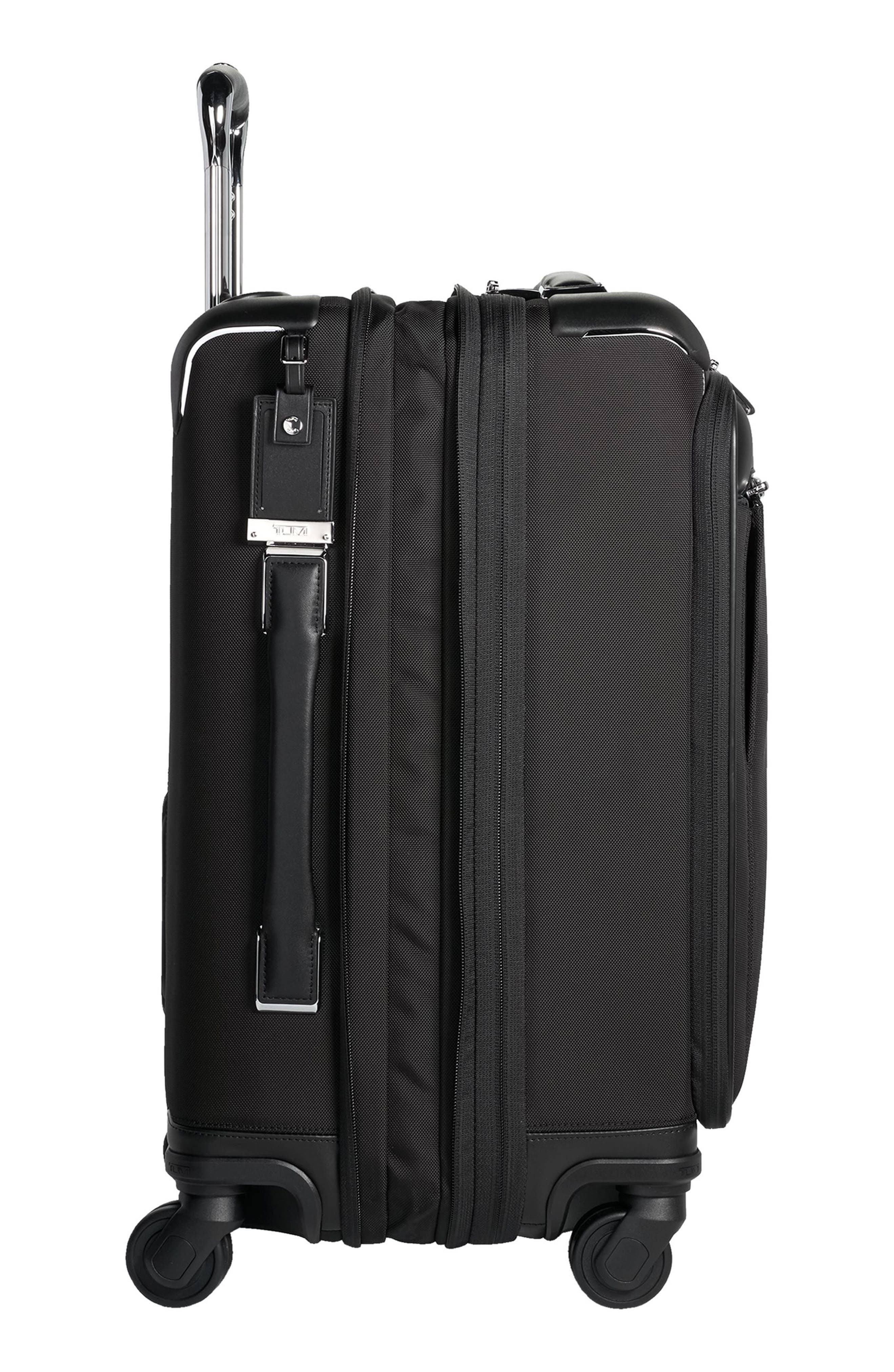 Gatwick 22-Inch International Expandable Carry-On,                             Alternate thumbnail 3, color,                             BLACK