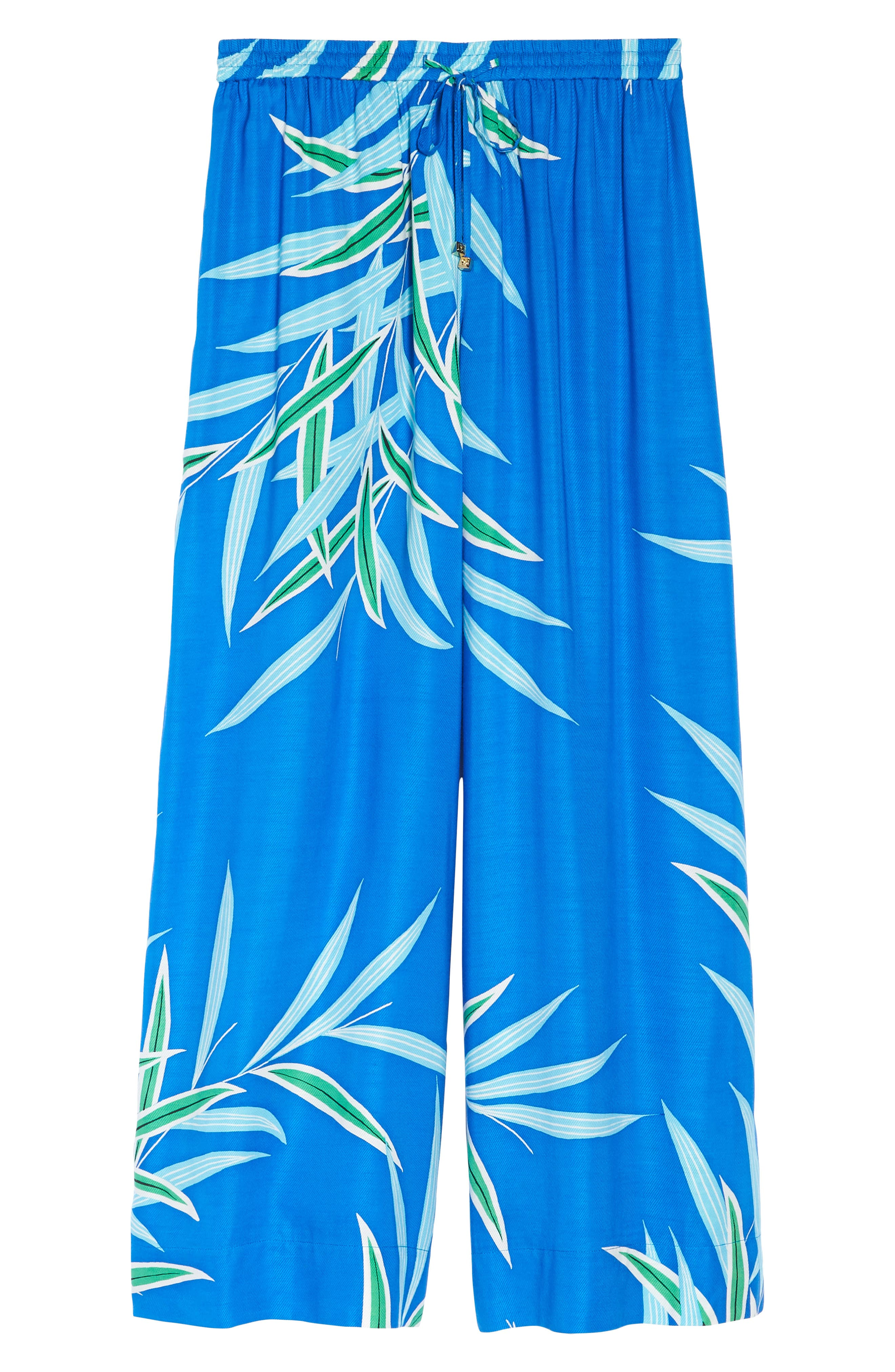 Beach Cover-Up Culottes,                             Alternate thumbnail 6, color,                             QUINCY BLUE