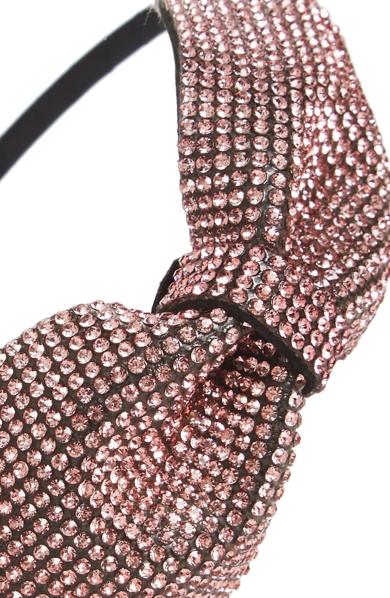 Sparkle Bow Headband,                             Alternate thumbnail 5, color,