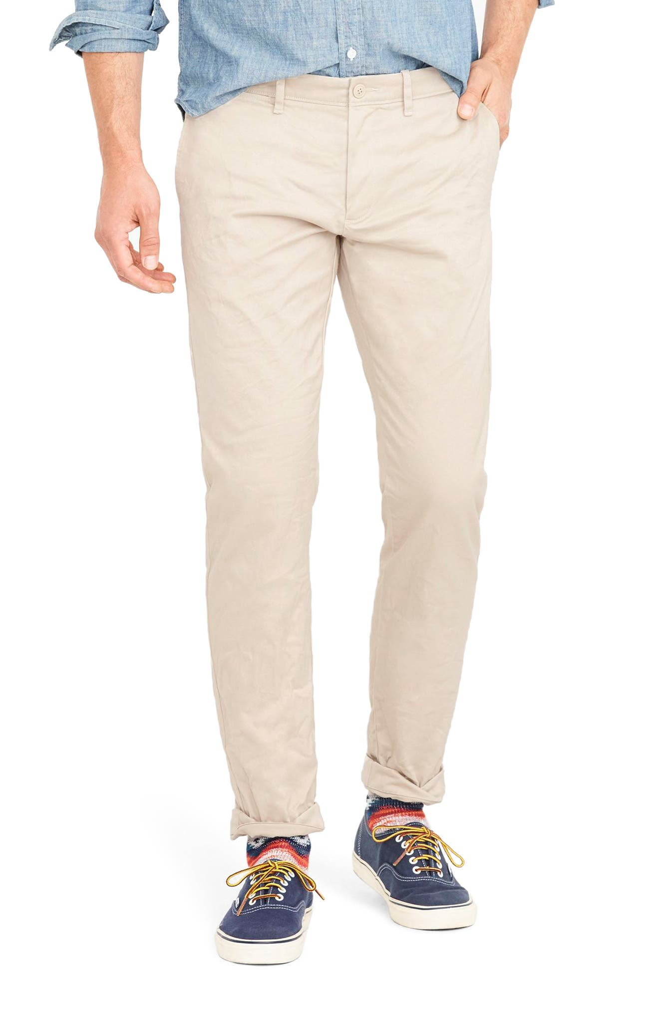 484 Slim Fit Stretch Chino Pants,                         Main,                         color, FADED CHINO