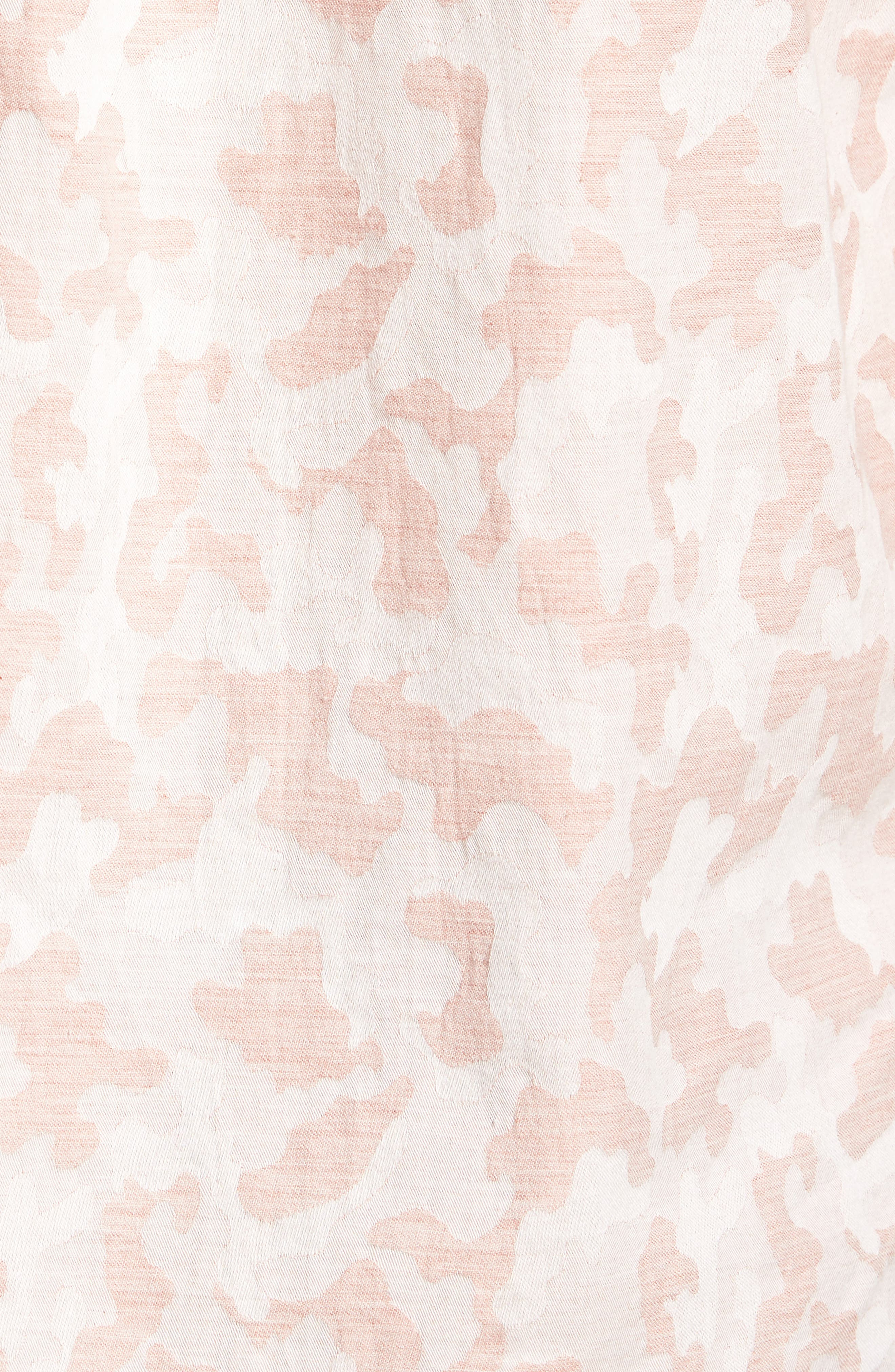 Truman Slim Fit Short Sleeve Sport Shirt,                             Alternate thumbnail 5, color,                             650