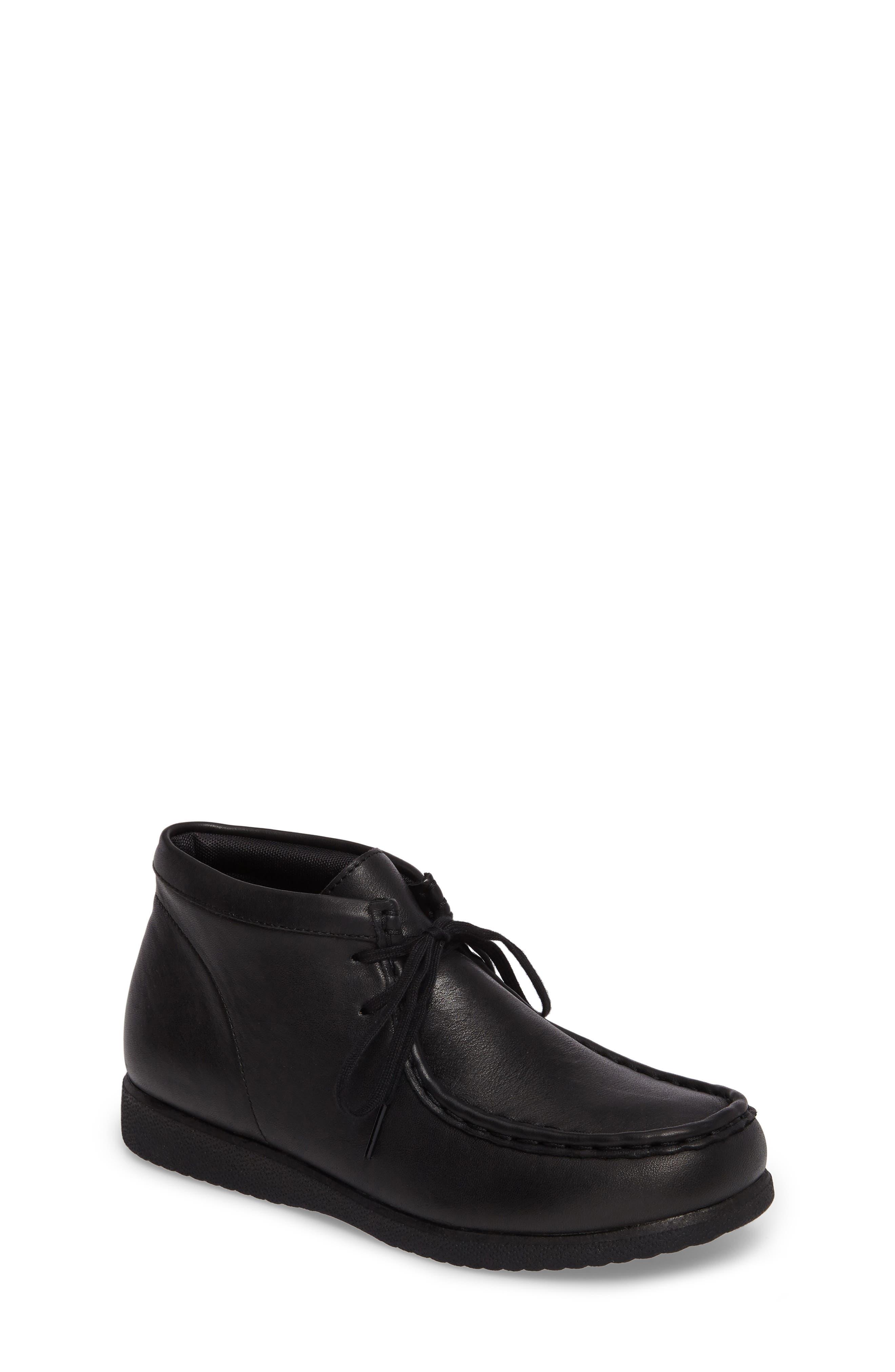 HUSH PUPPIES<SUP>®</SUP> Bridgeport III Chukka Boot, Main, color, BLACK LEATHER