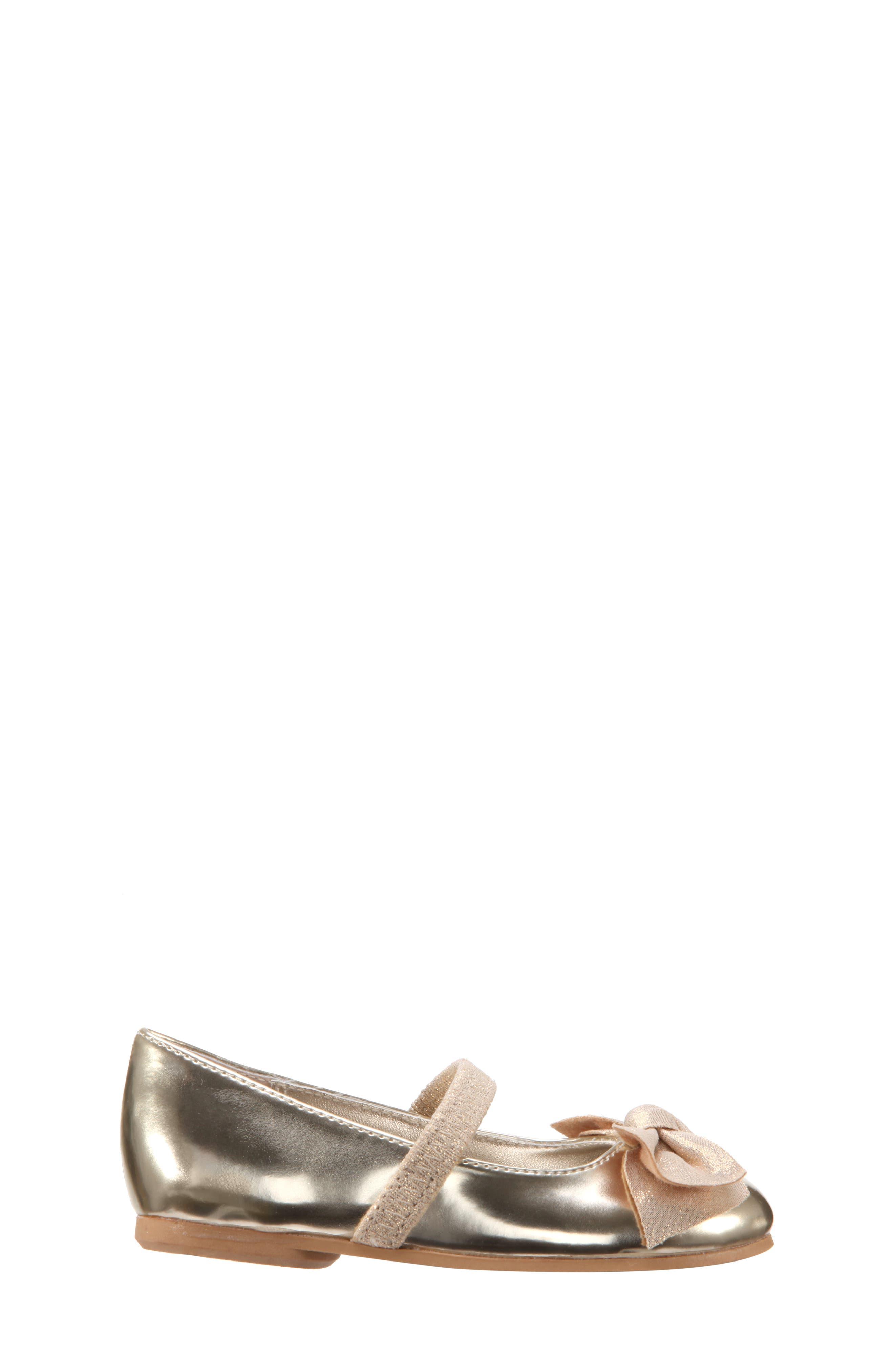 Kaytelyn-T Glitter Bow Ballet Flat,                             Alternate thumbnail 20, color,