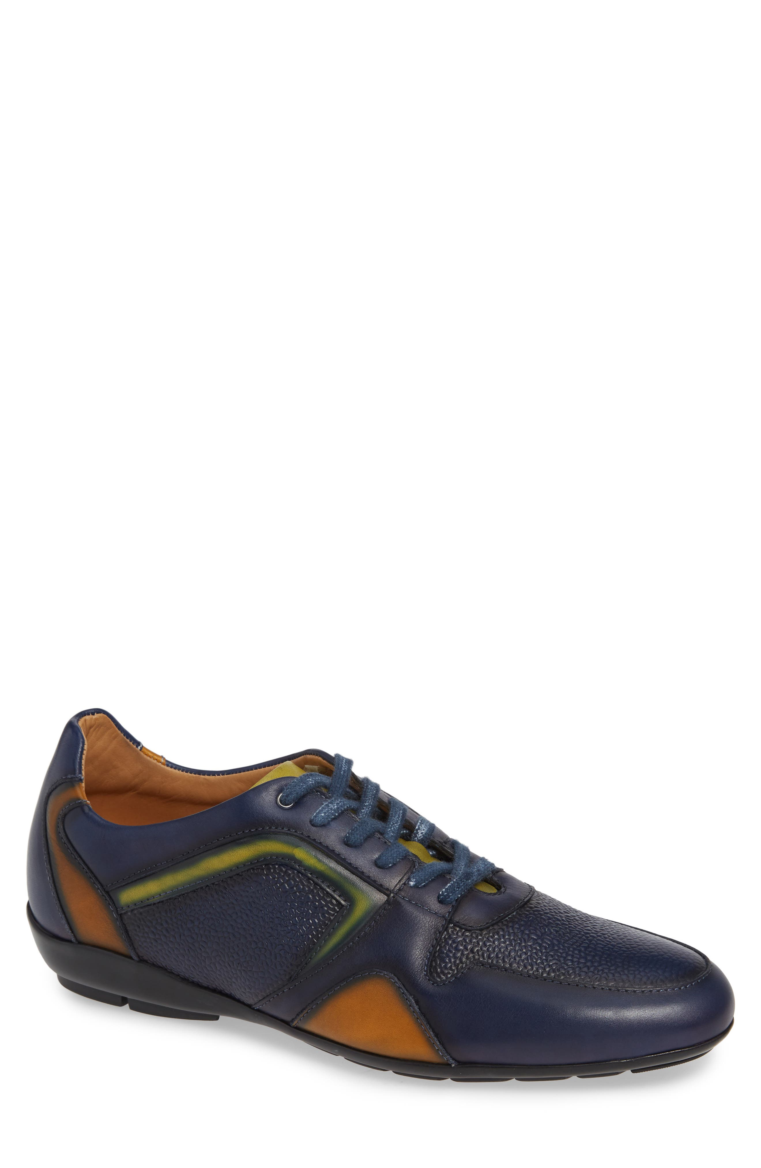 Campo Sneaker in Blue Leather