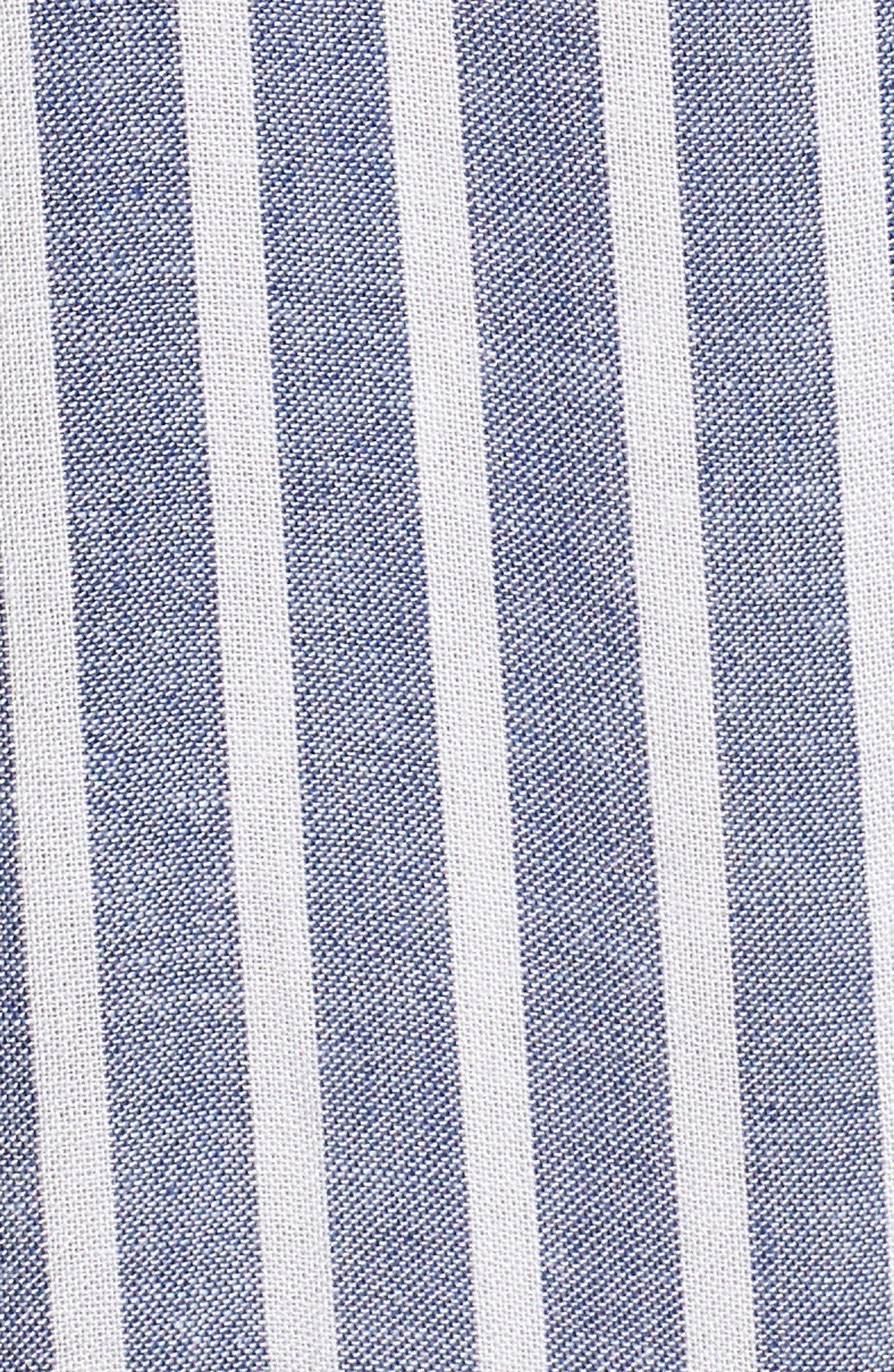 Benji Stripe Shirt,                             Alternate thumbnail 5, color,                             400