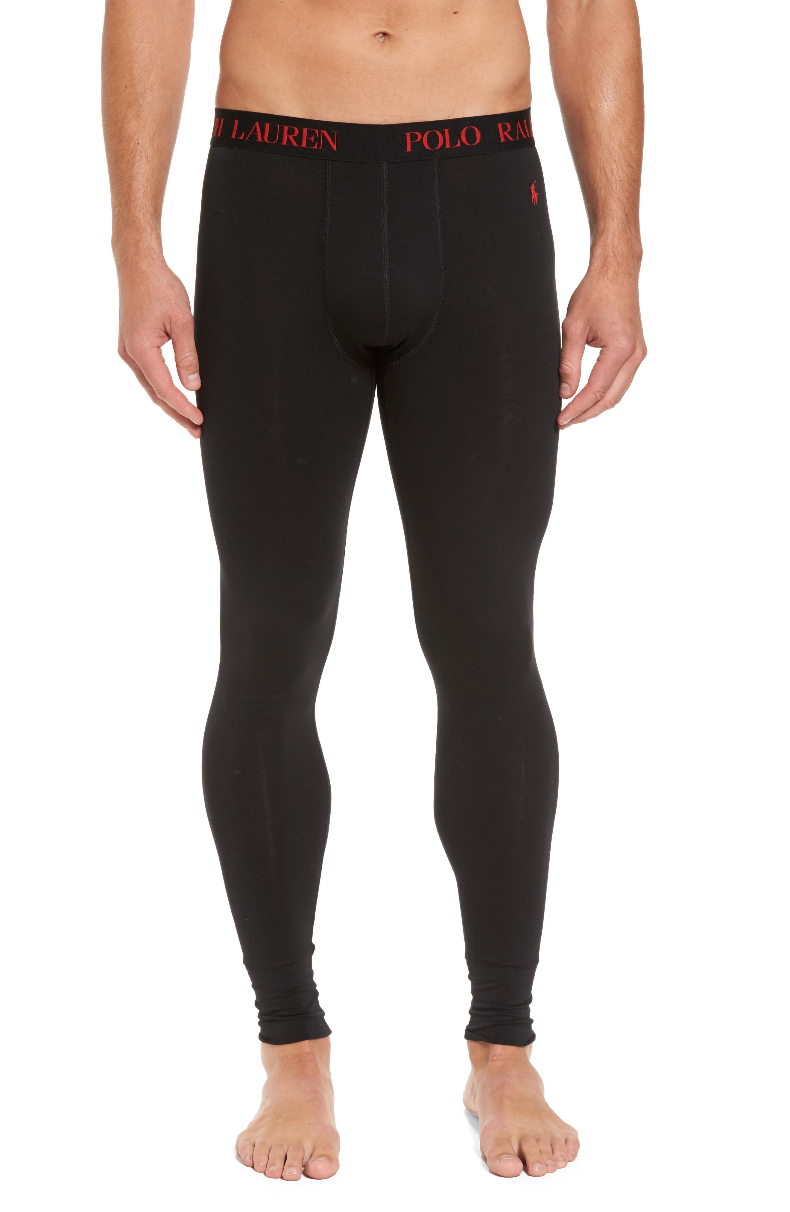 Long Underwear,                             Main thumbnail 1, color,                             POLO BLACK
