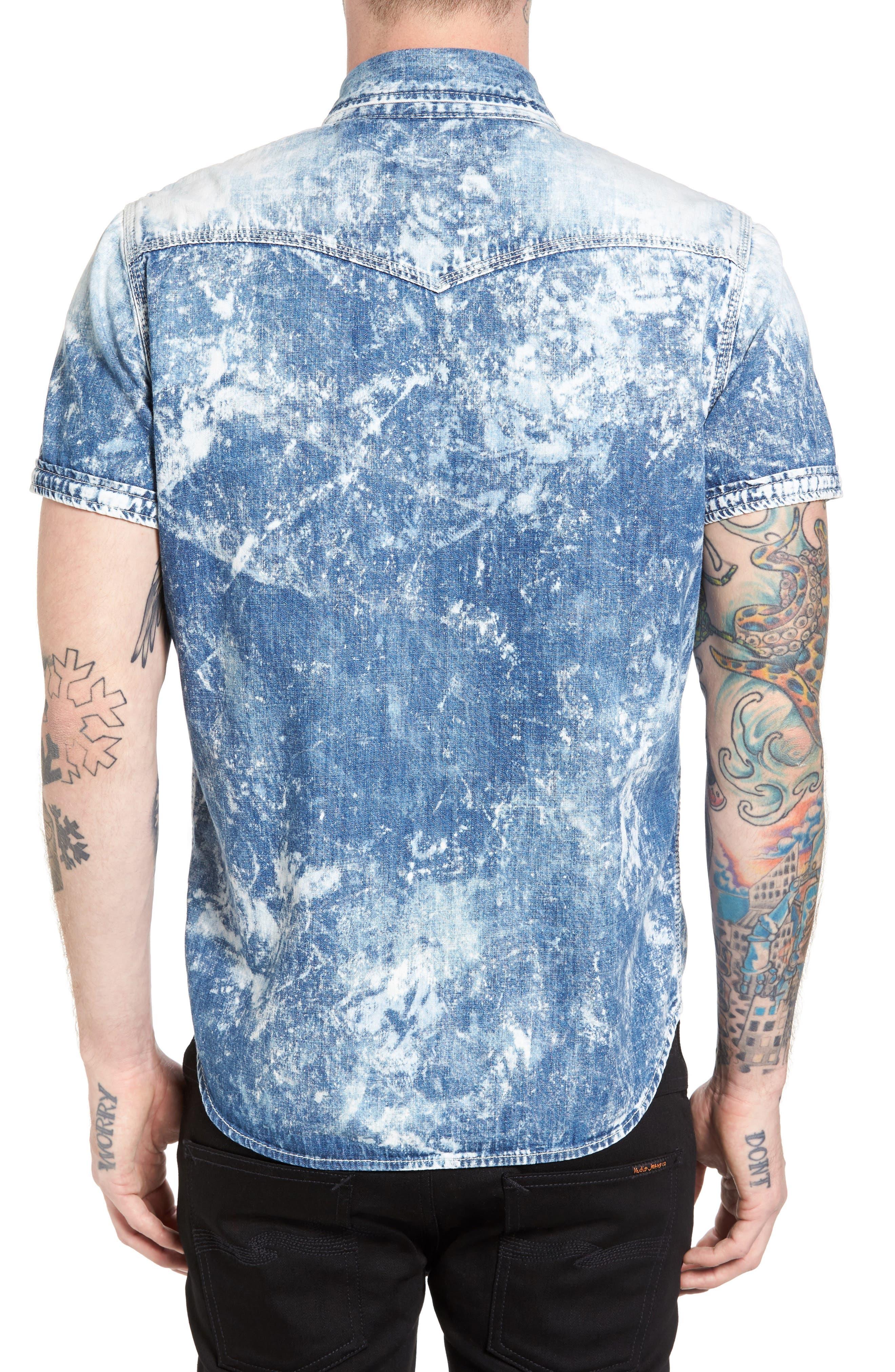 Ryan Runyon Rebel Long Sleeve Western Shirt,                             Alternate thumbnail 4, color,
