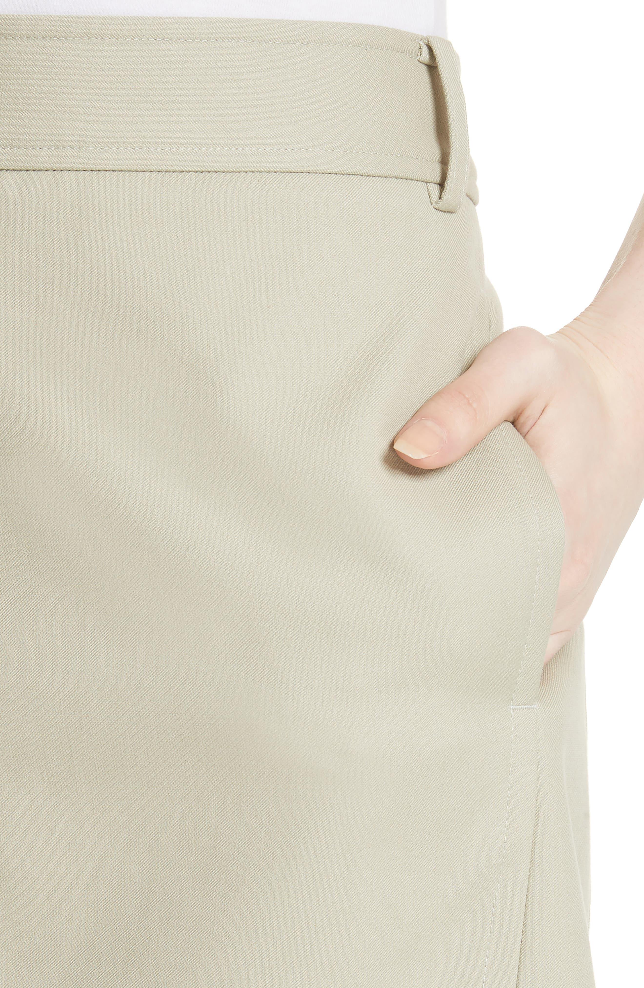 TIBI,                             Margaux Miniskirt,                             Alternate thumbnail 4, color,                             310