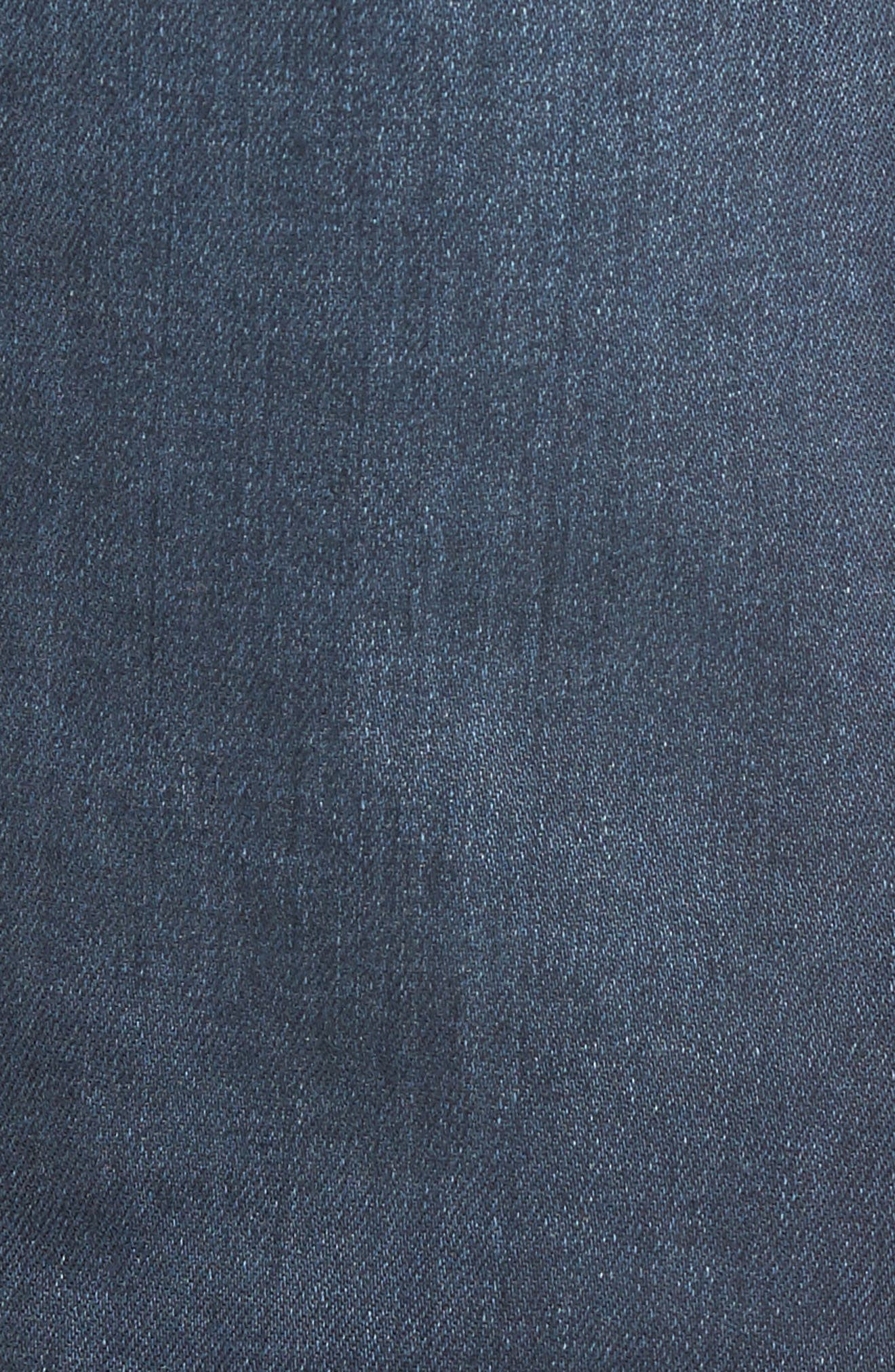 Graduate Slim Straight Leg Jeans,                             Alternate thumbnail 5, color,                             7 YEARS BLUE PERIL