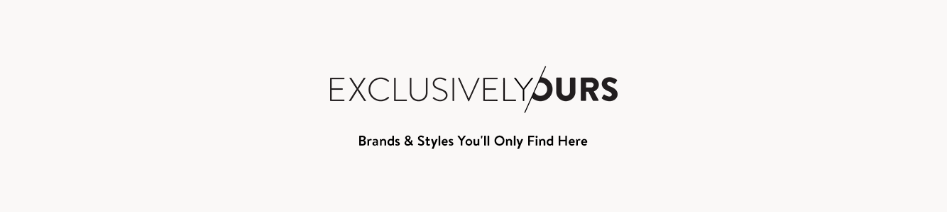 Nordstrom exclusive brands.