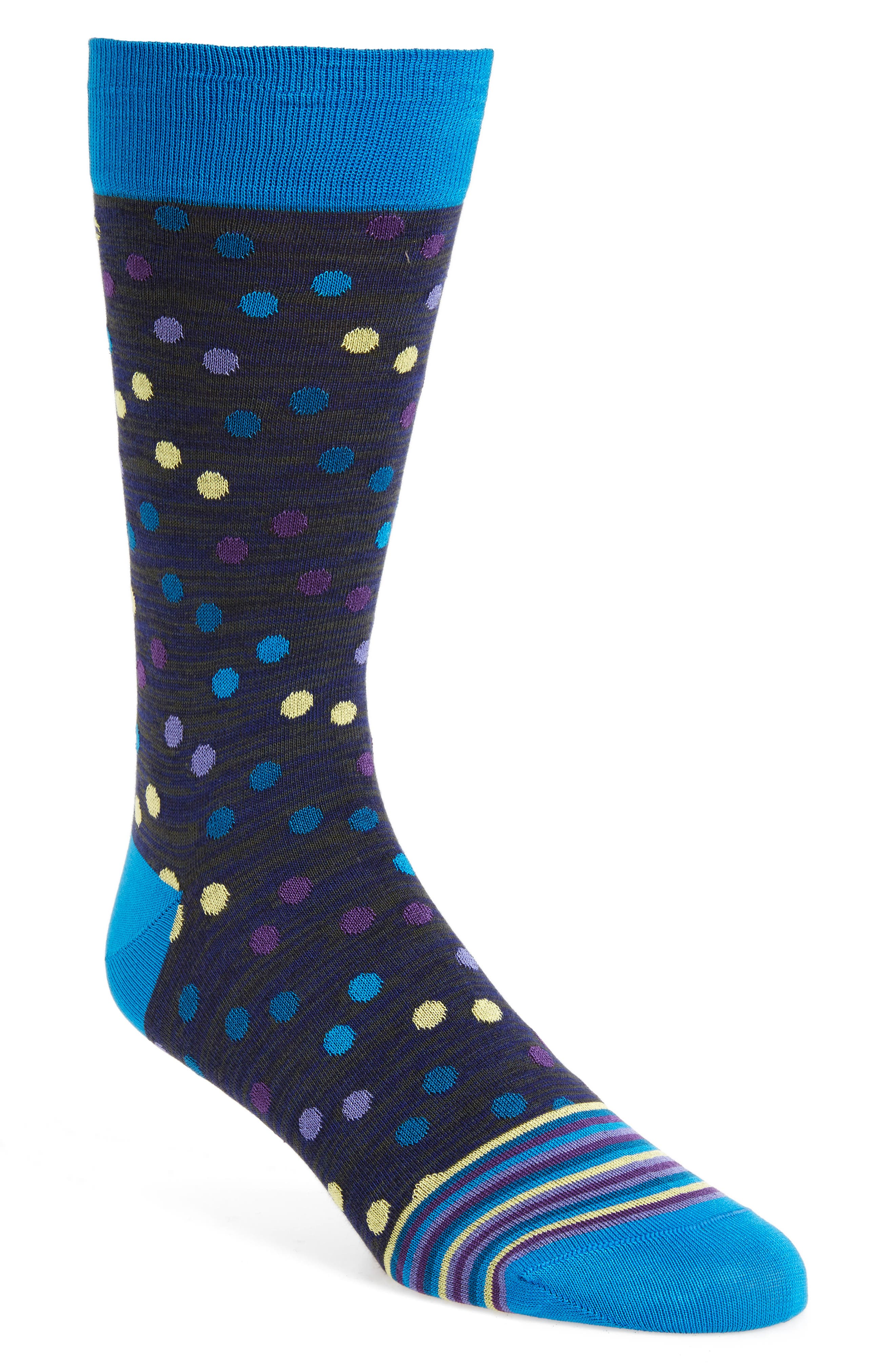 Polka Dot Socks,                             Main thumbnail 4, color,