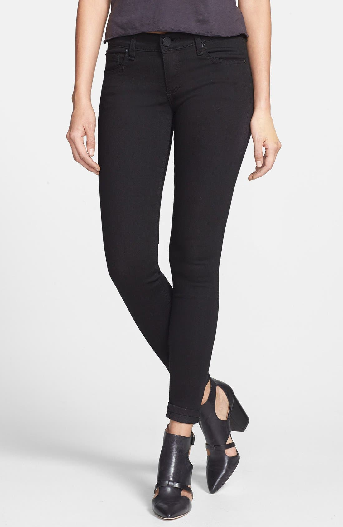 'Sloan' Skinny Jeans, Main, color, 001