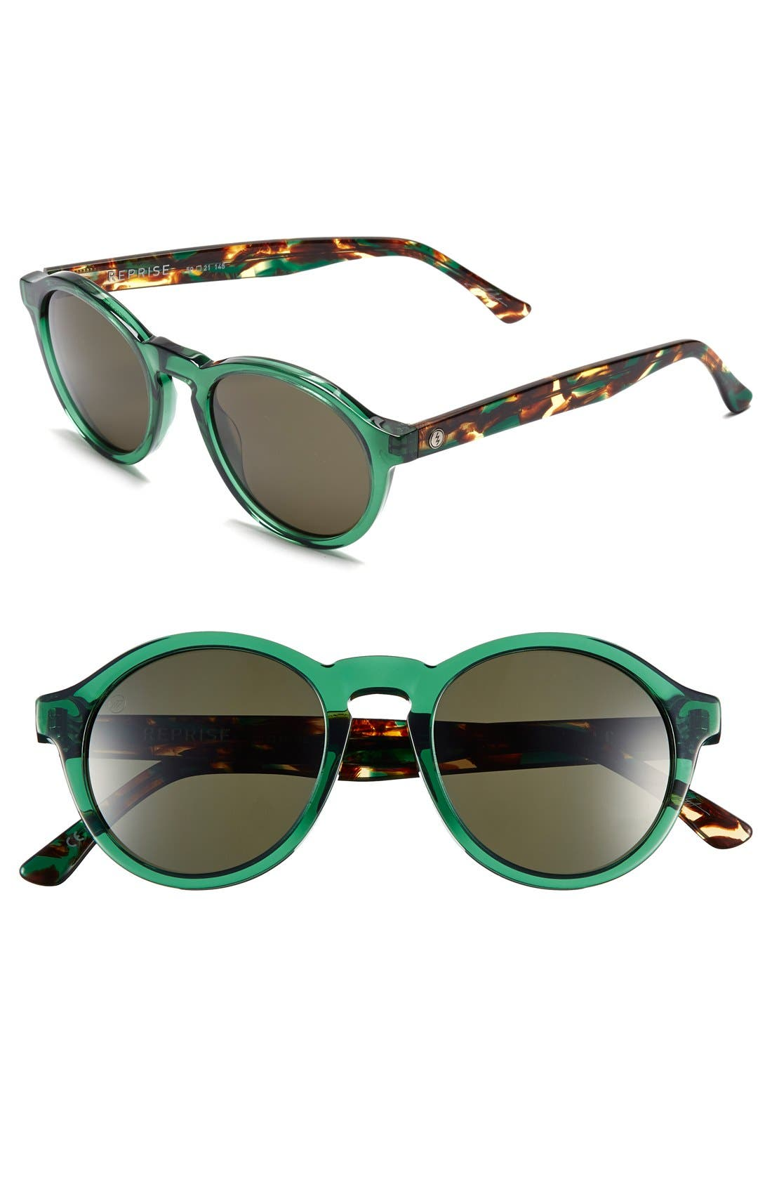 'Reprise' 50mm Round Sunglasses,                             Main thumbnail 4, color,