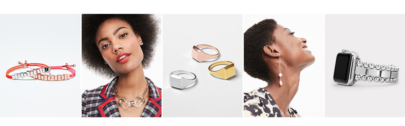 Fashion and function: women's jewelry.