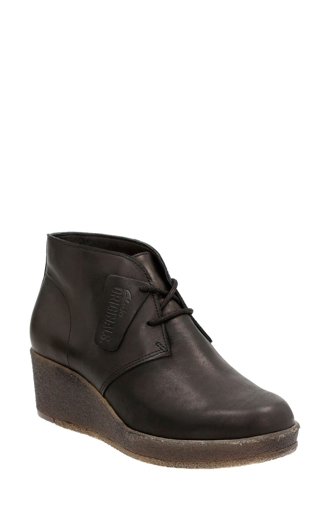 Originals 'Athie Terra' Wedge Boot,                             Main thumbnail 1, color,