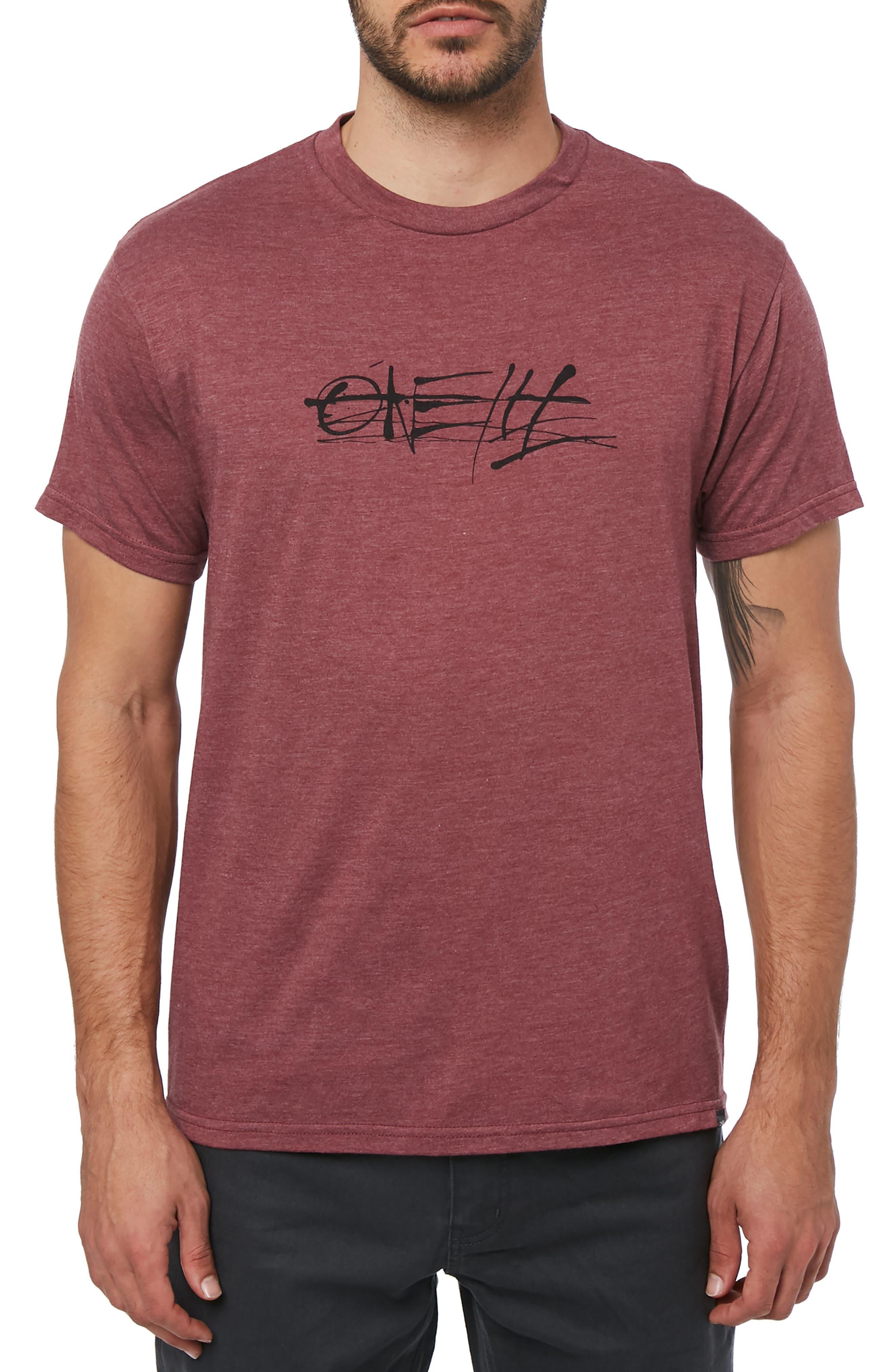 O'NEILL,                             Ink Blast Graphic T-Shirt,                             Main thumbnail 1, color,                             930