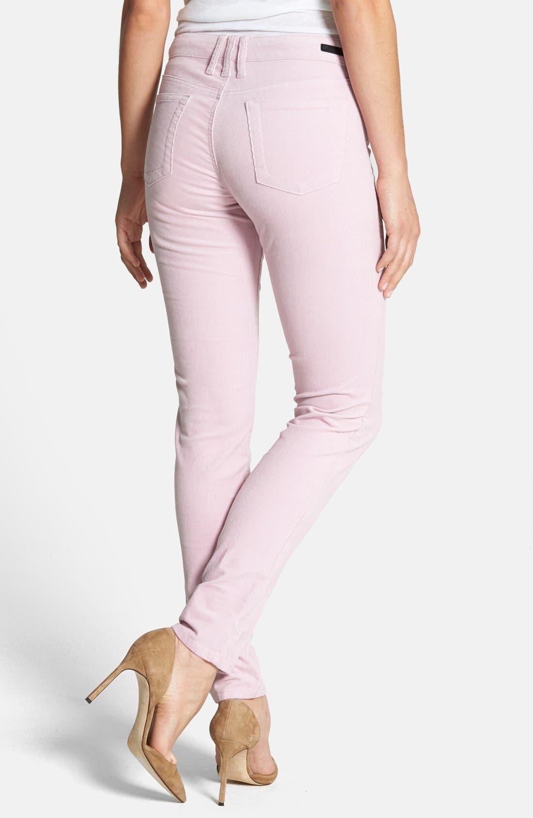 'Diana' Stretch Corduroy Skinny Pants,                             Alternate thumbnail 150, color,