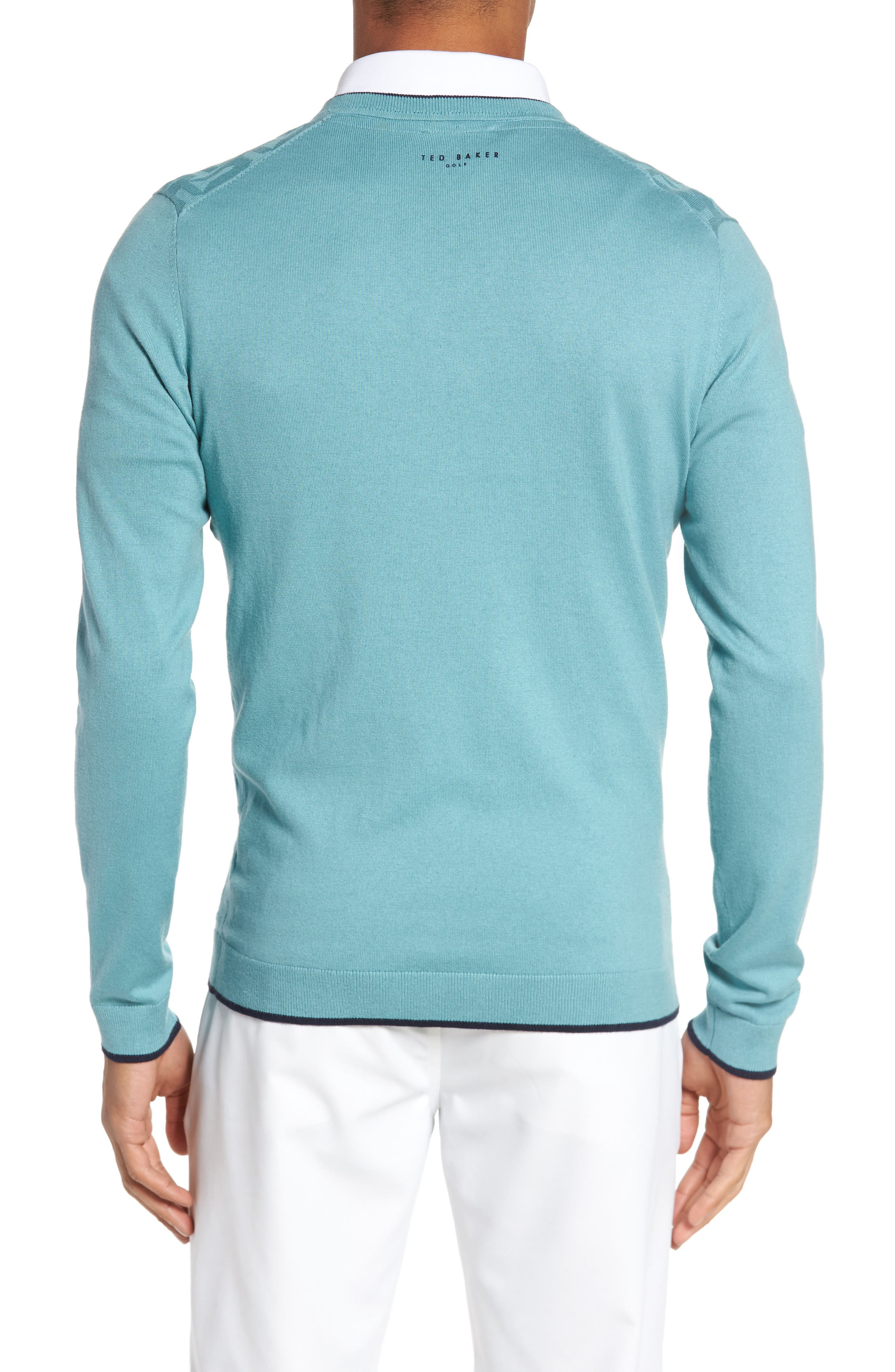 Armstro Tipped Golf Tee Sweater,                             Alternate thumbnail 7, color,