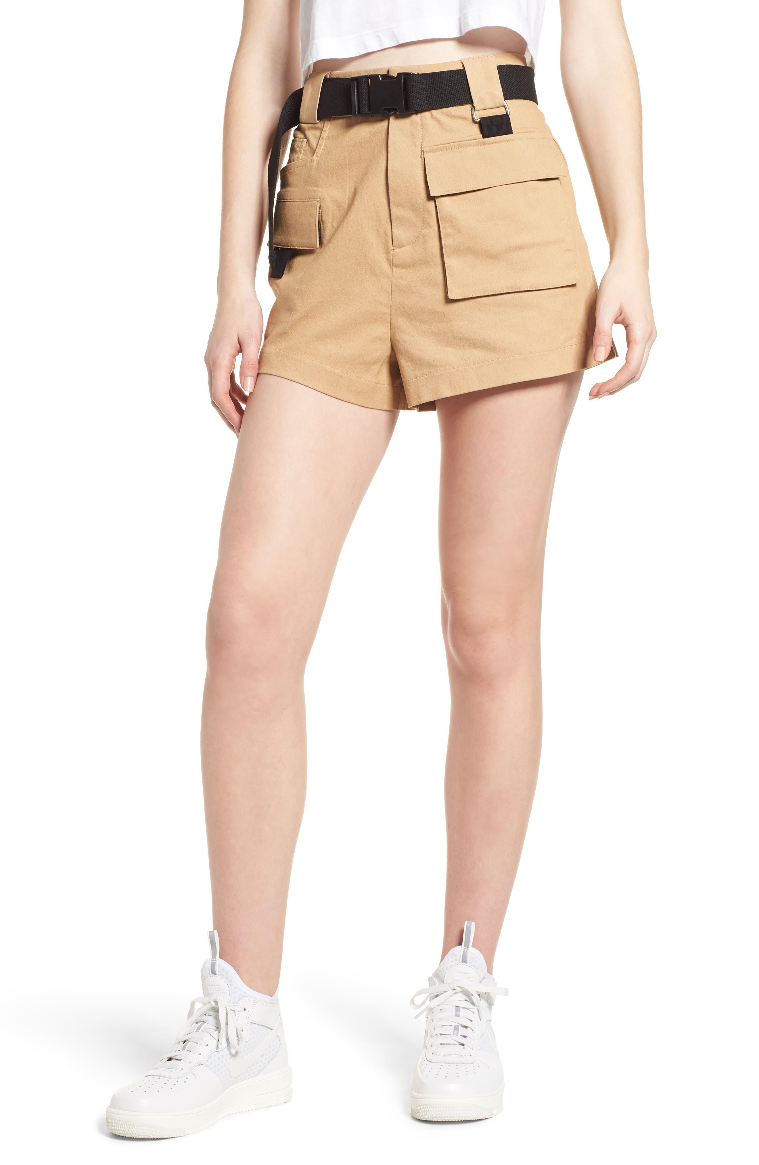 I.AM.GIA I.Am. Gia Harper Shorts in Tan