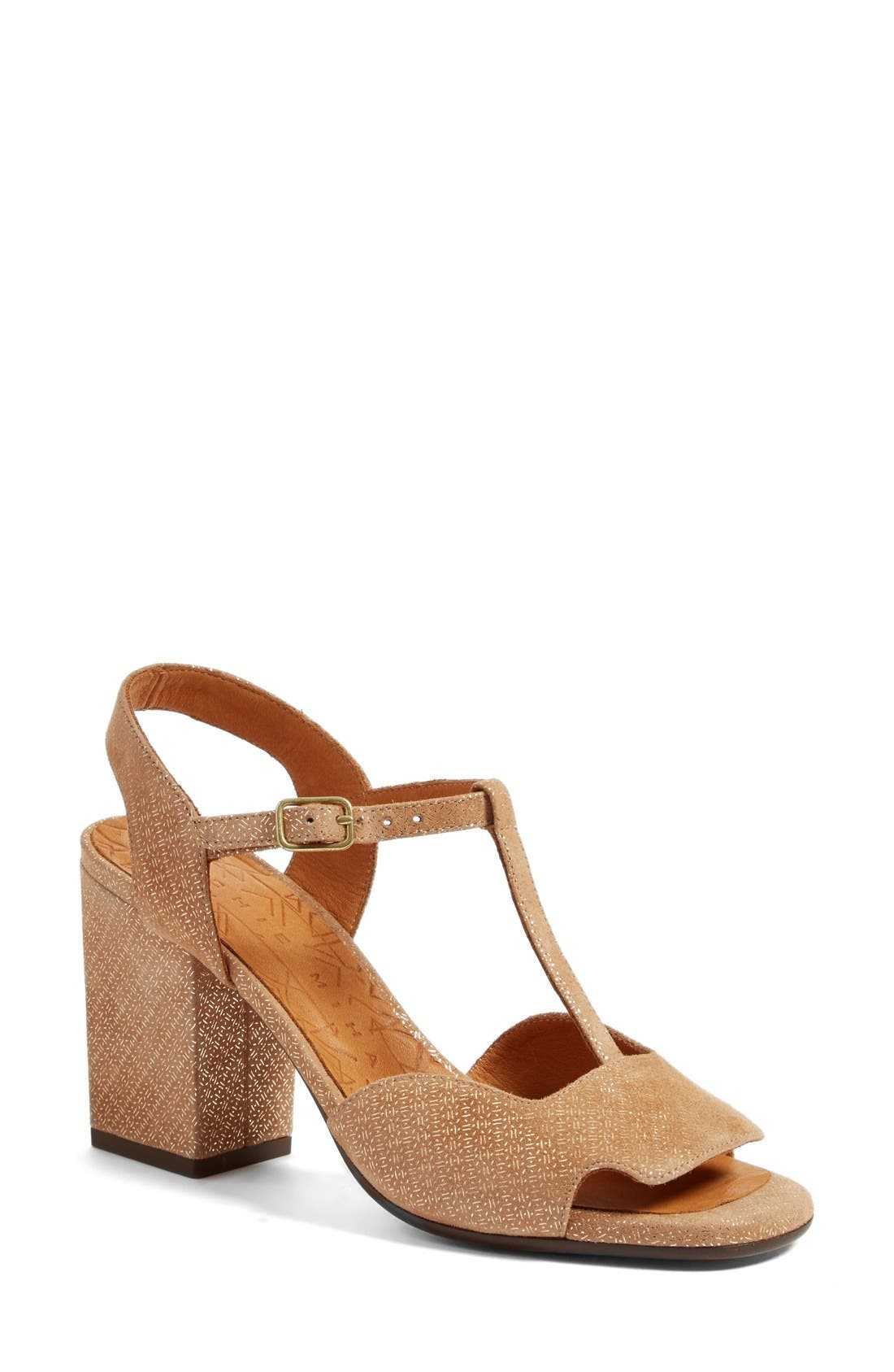 Birthe T-Strap Sandal,                             Main thumbnail 1, color,