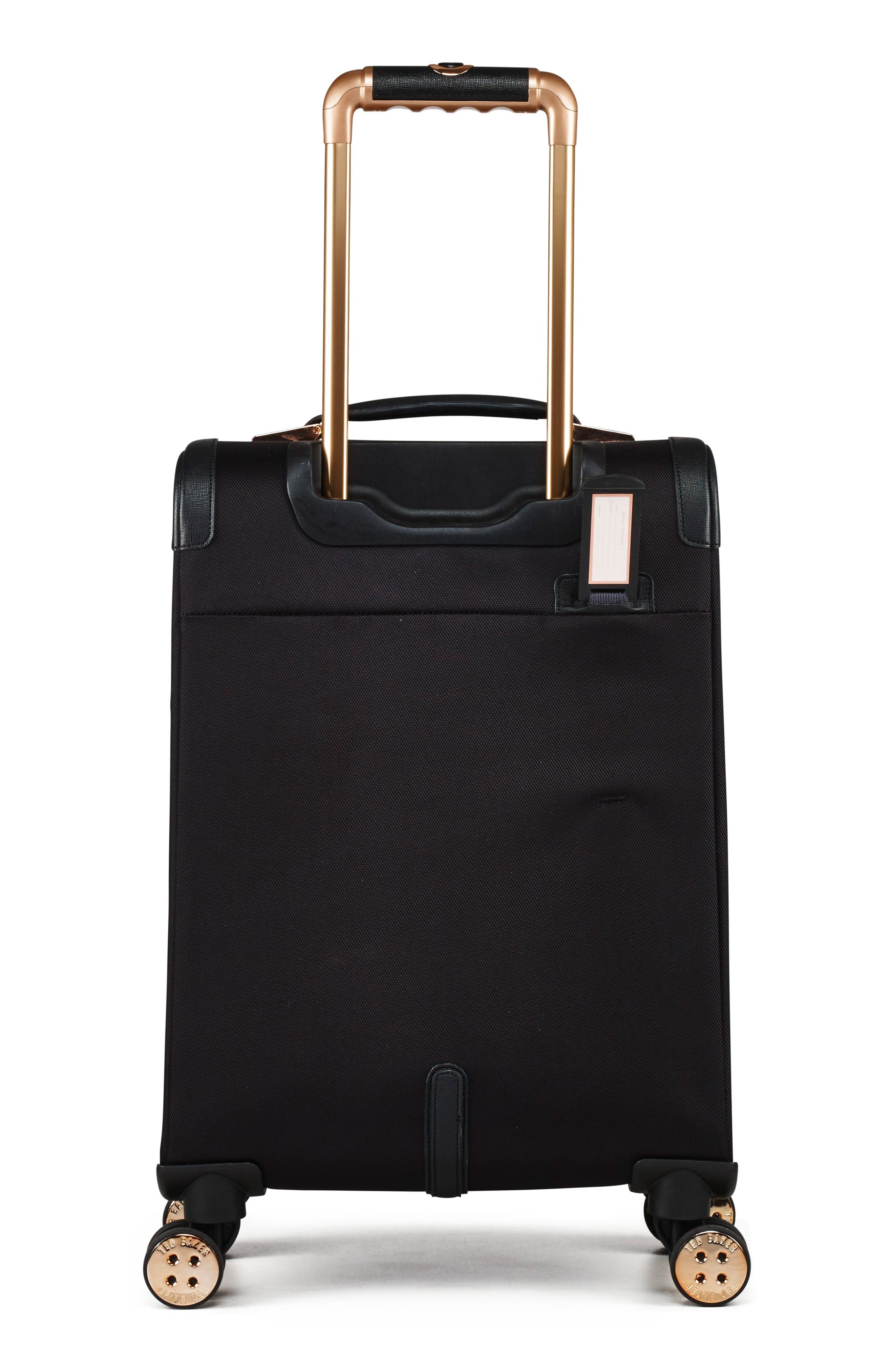 22-Inch Trolley Packing Case,                             Alternate thumbnail 2, color,                             BLACK