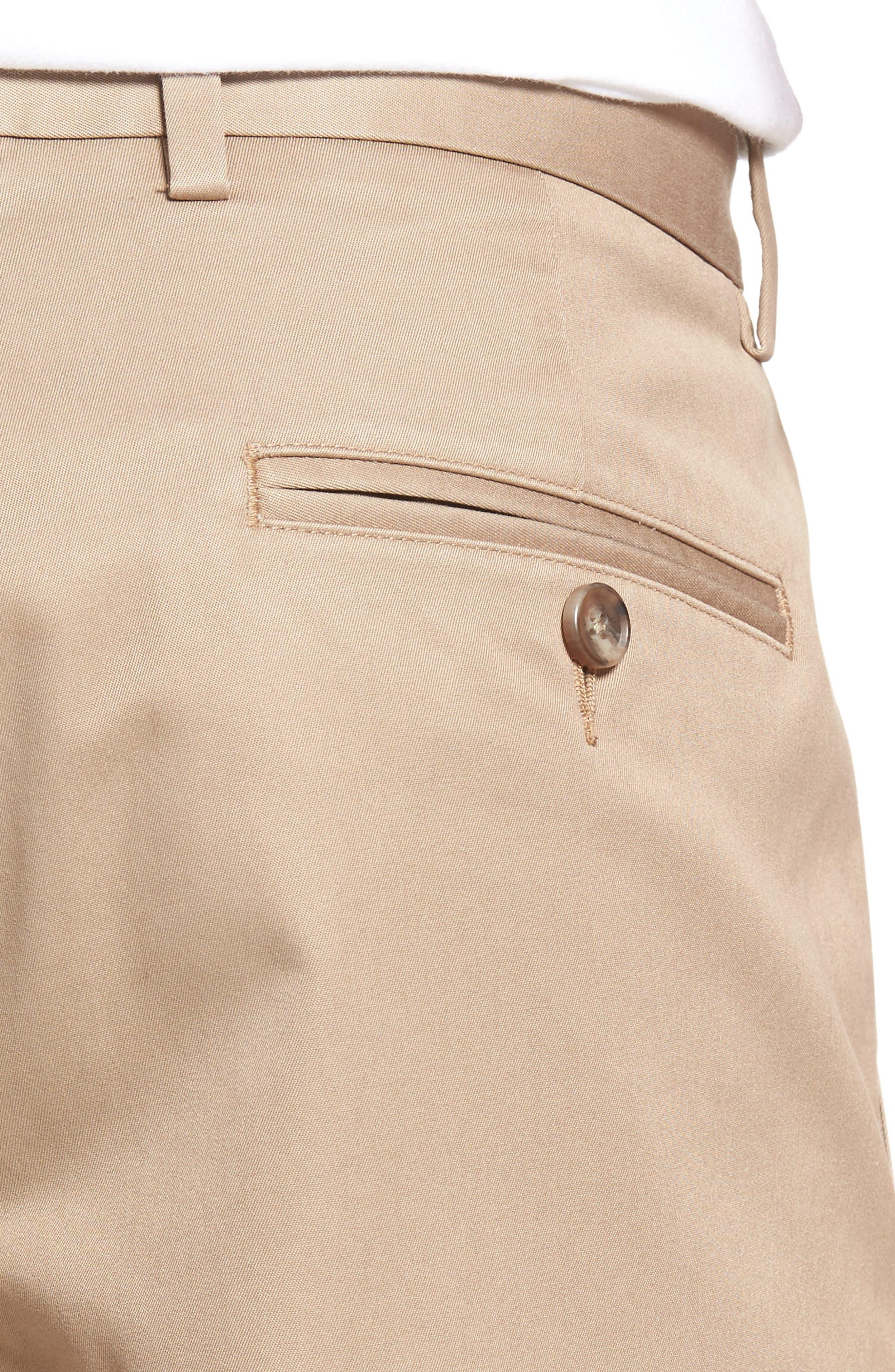 Pleated Supima<sup>®</sup> Cotton Shorts,                             Alternate thumbnail 18, color,