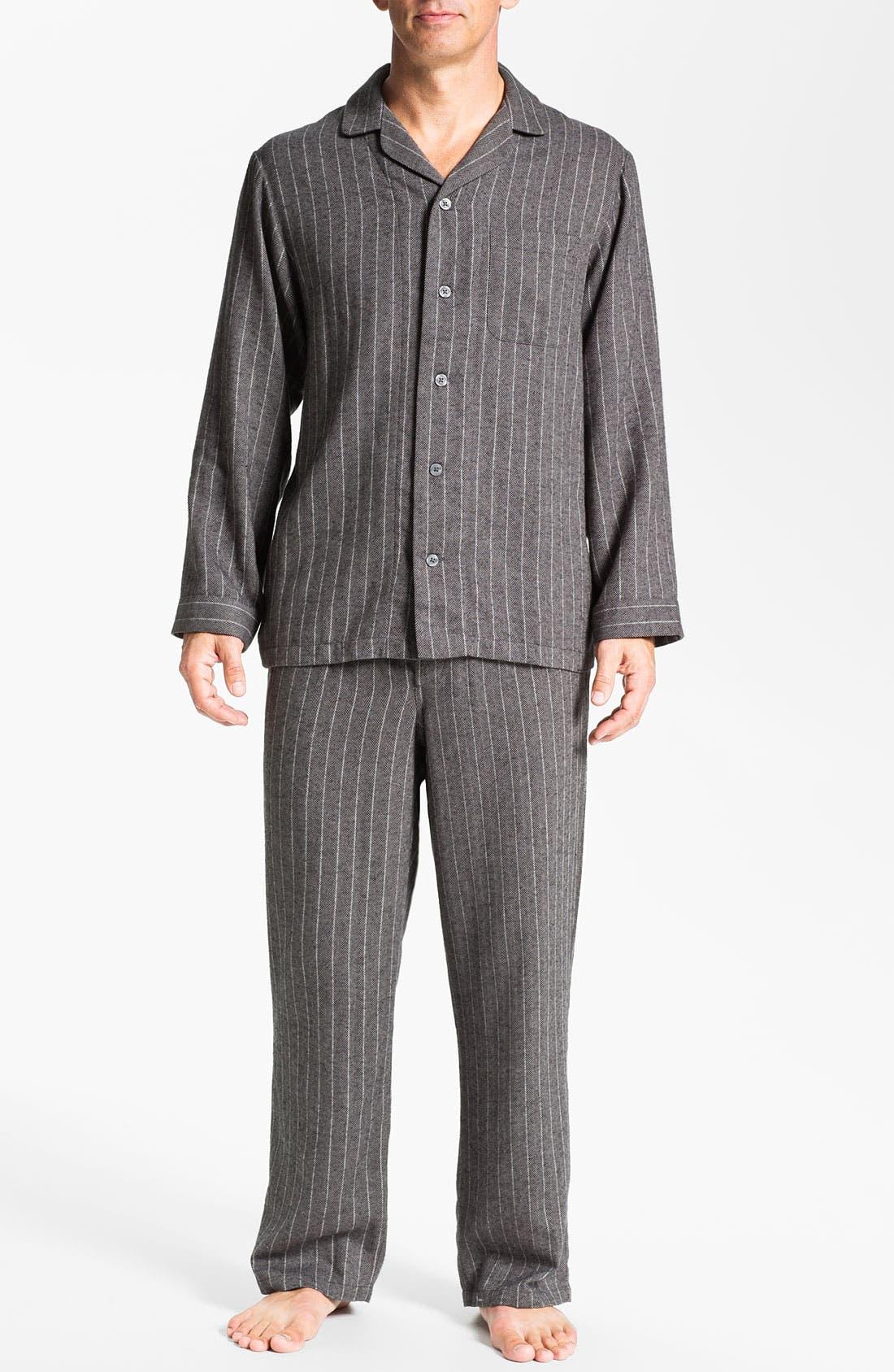 '824' Flannel Pajama Set,                             Main thumbnail 22, color,