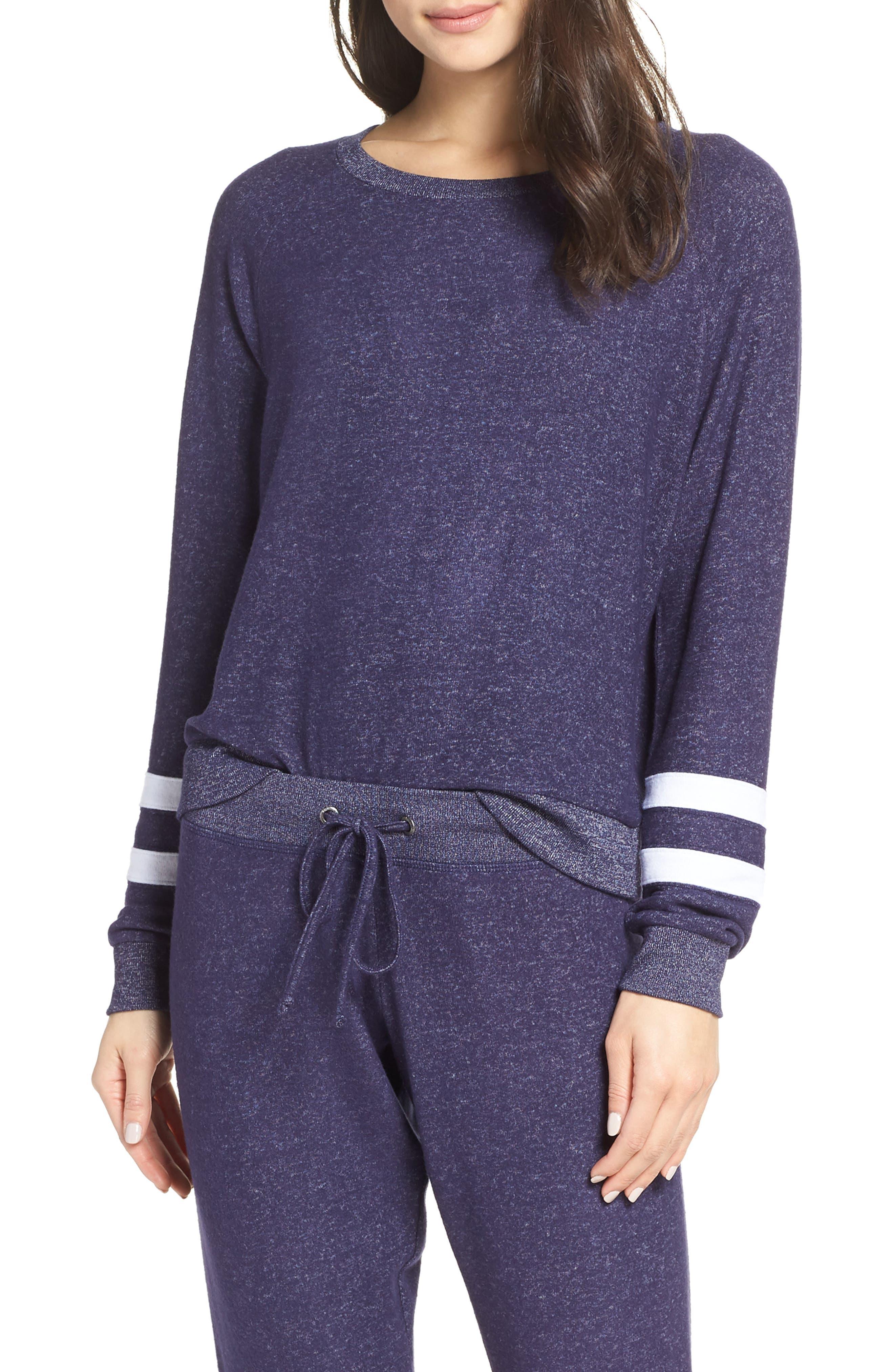 Cozy Crew Raglan Sweatshirt,                         Main,                         color, NAVY DUSK