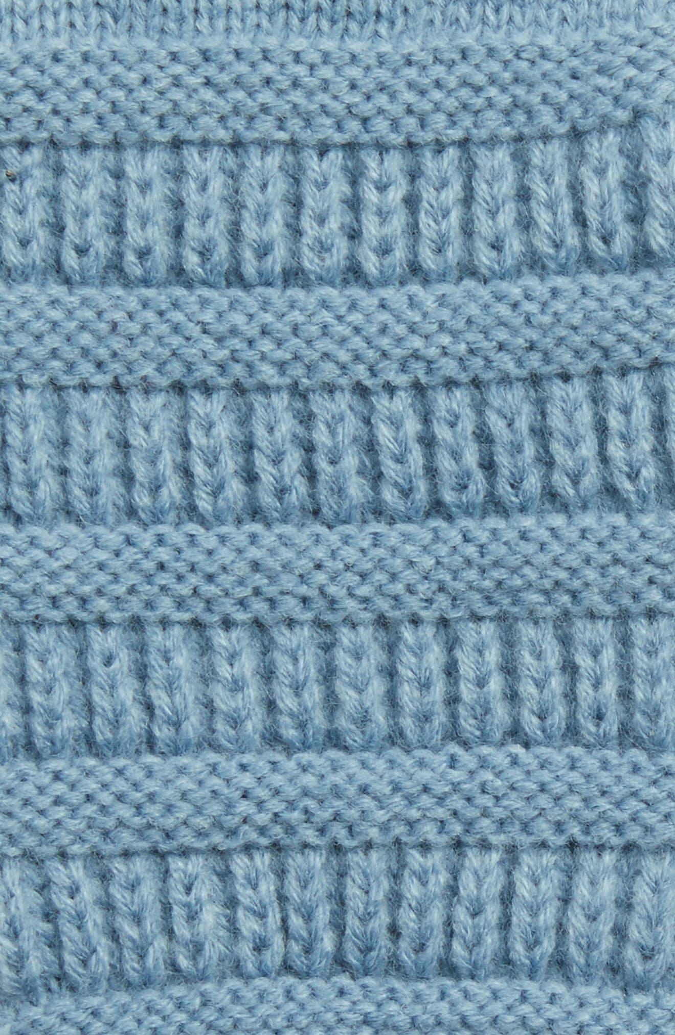 Rib Knit Tech Gloves,                             Alternate thumbnail 19, color,