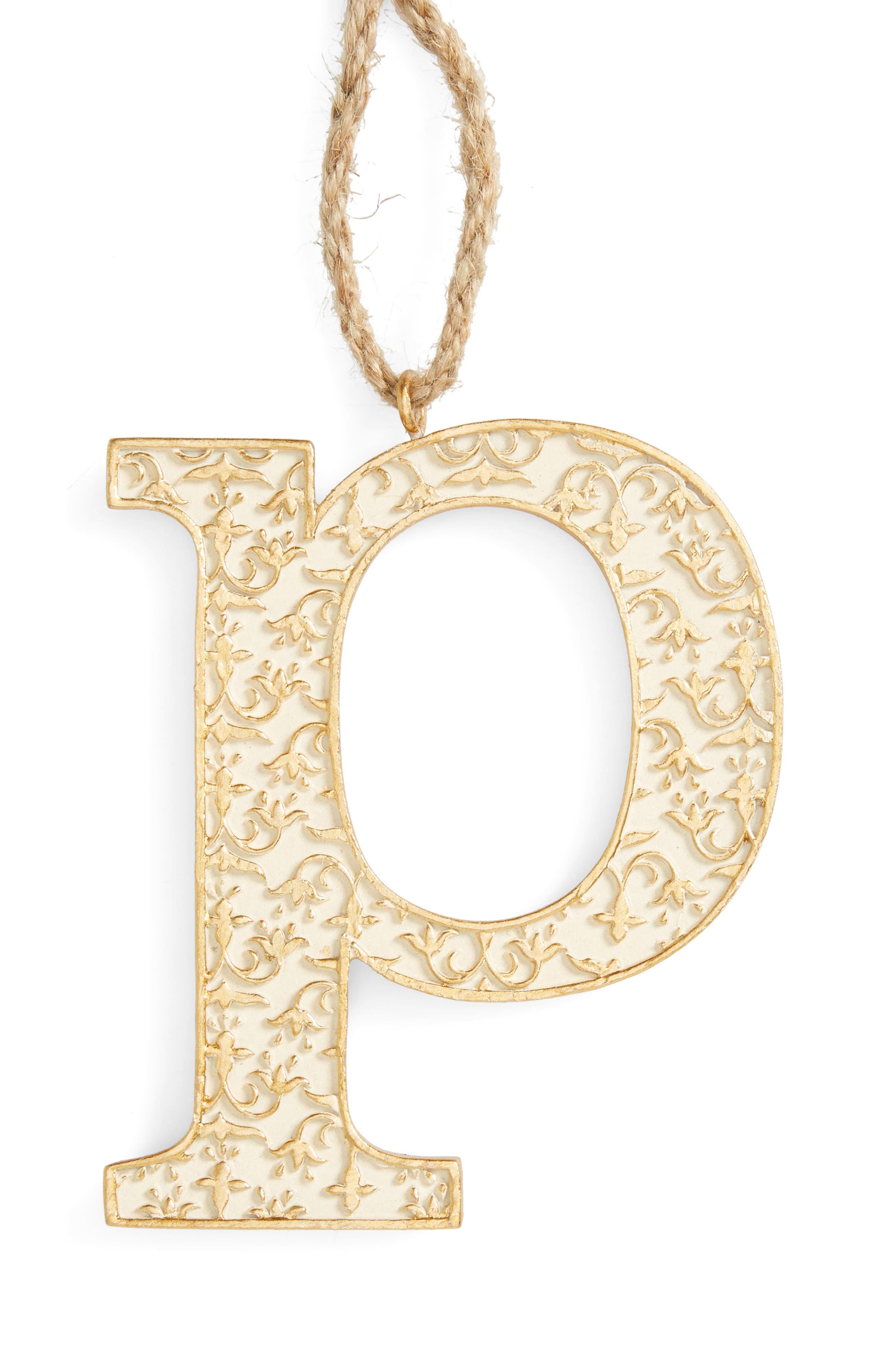 Letter Ornament,                             Main thumbnail 16, color,
