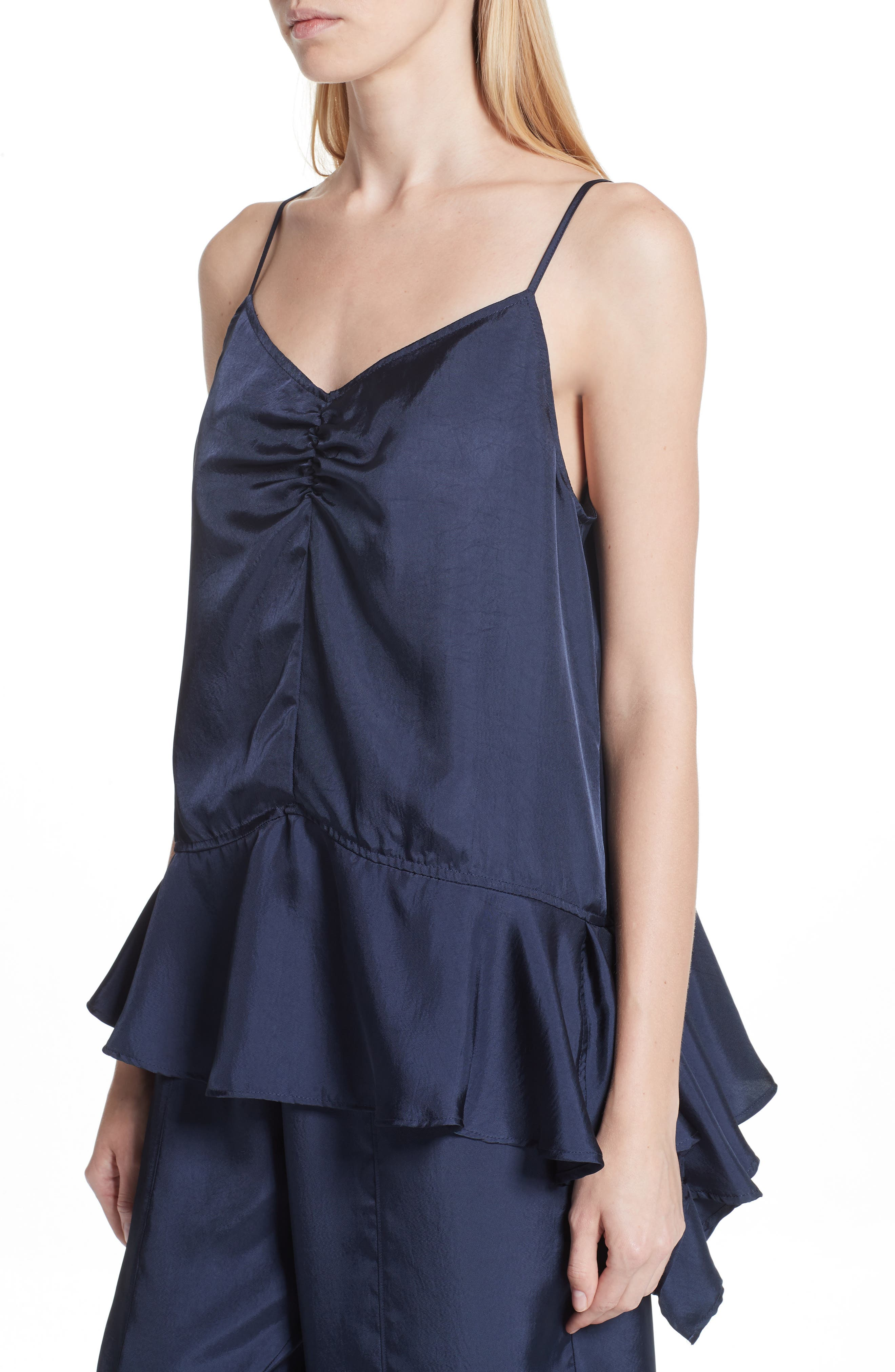 Asymmetrical Hem Camisole,                             Alternate thumbnail 4, color,                             401