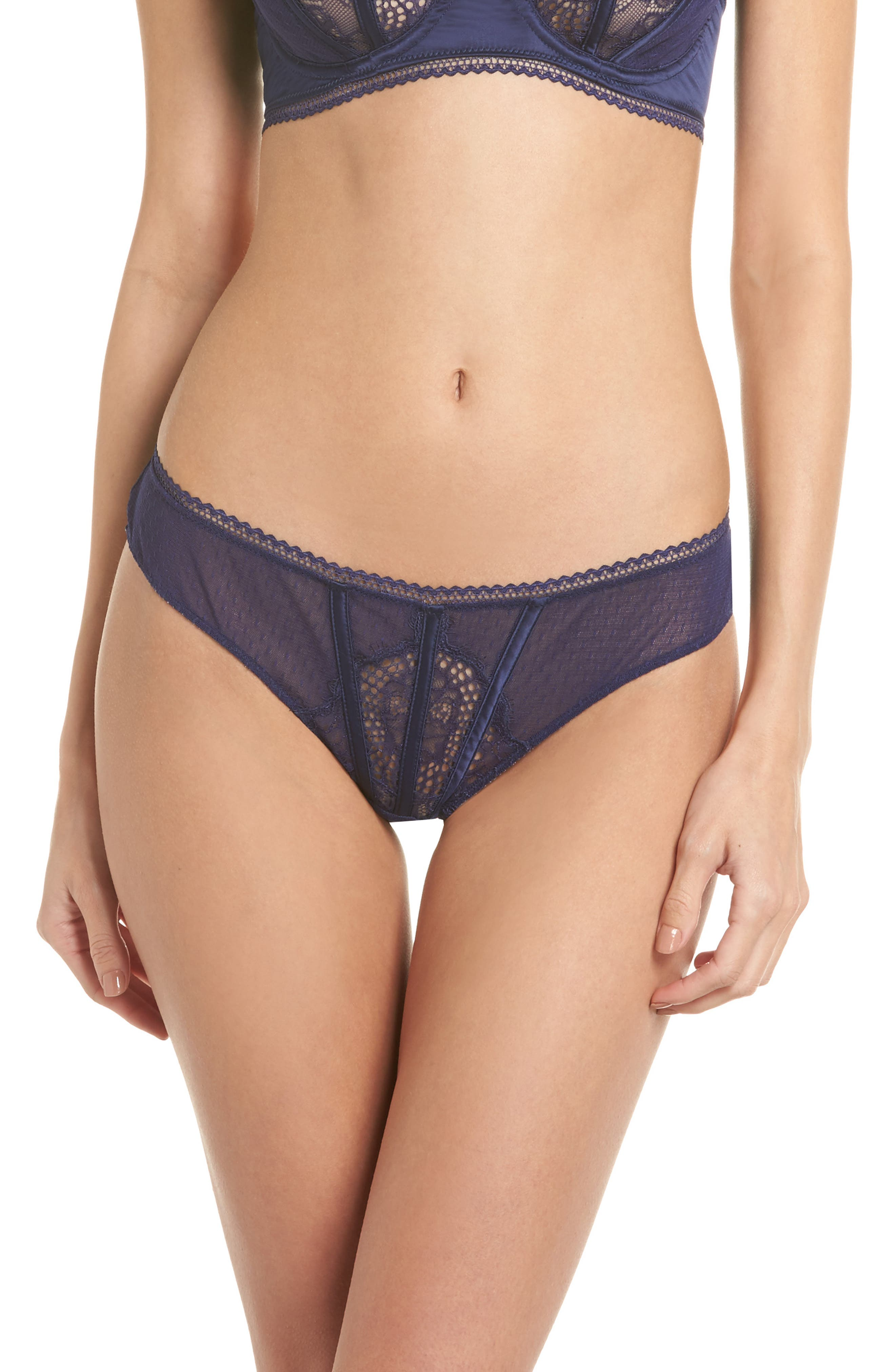 Thistle & Spire All Wrapped Up Thong,                             Main thumbnail 2, color,