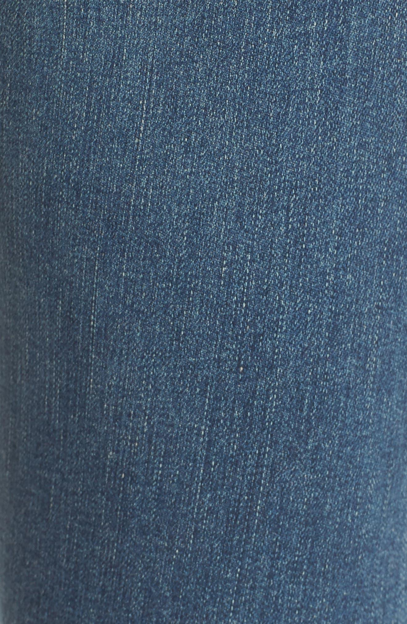 'The Farrah' High Rise Skinny Jeans,                             Alternate thumbnail 43, color,