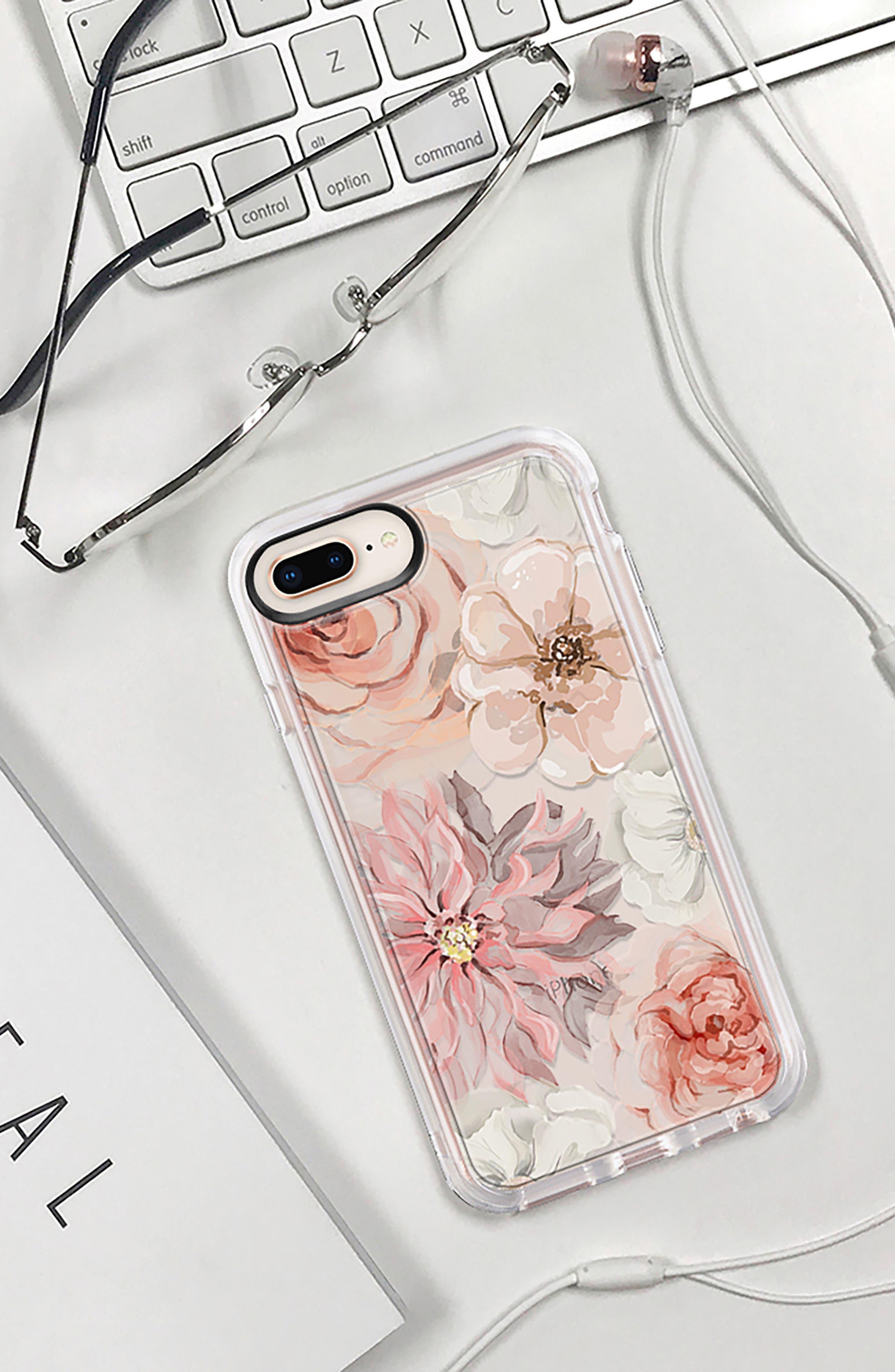 Pretty Blush iPhone 7/8 & 7/8 Plus Case,                             Alternate thumbnail 9, color,                             BLUSH PINK