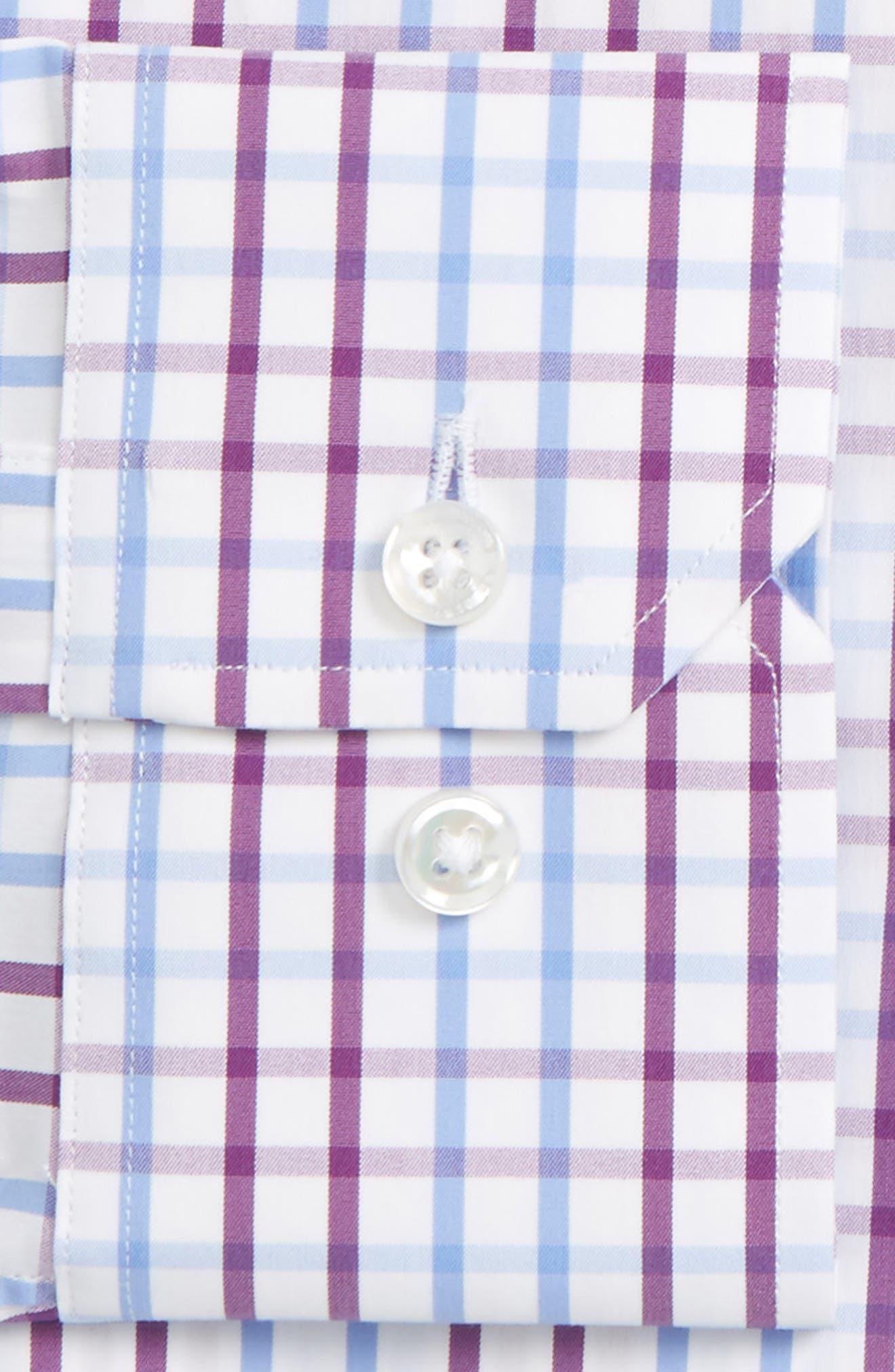Jetsetter Slim Fit Check Dress Shirt,                         Main,                         color, 500