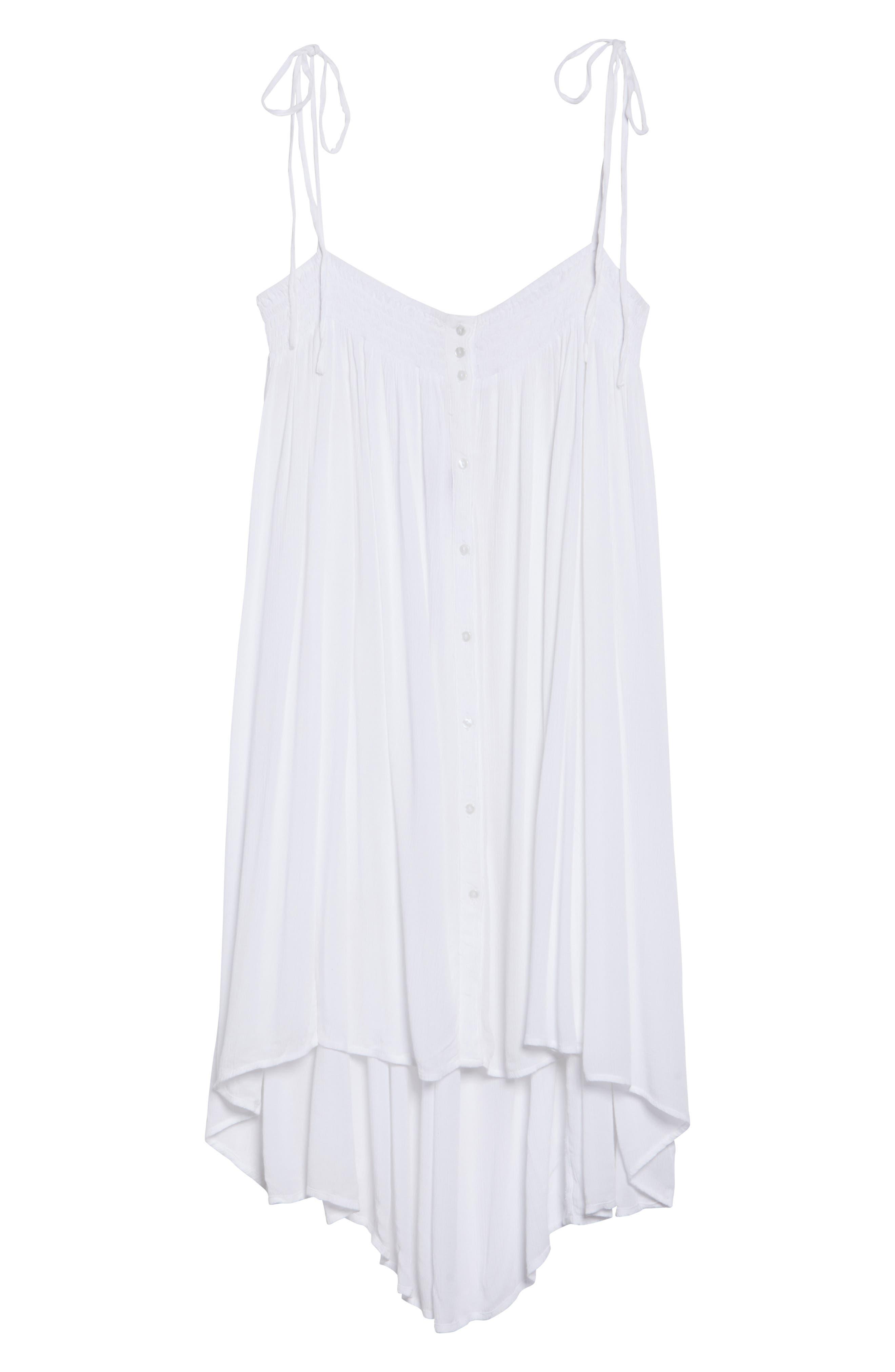 Oliva Cover-Up Dress,                             Alternate thumbnail 6, color,                             100