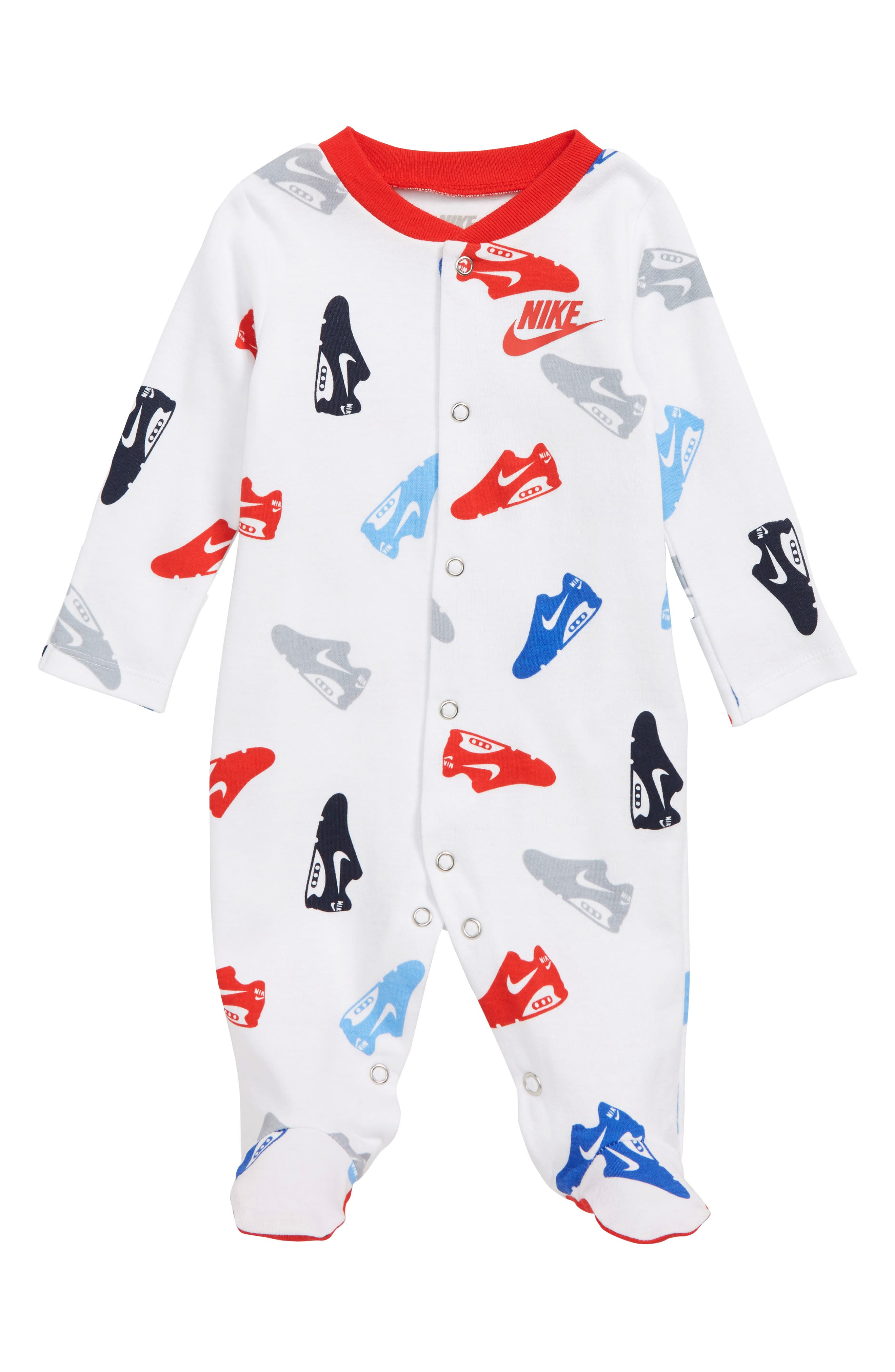 Shoe Footed Coveralls,                             Main thumbnail 1, color,