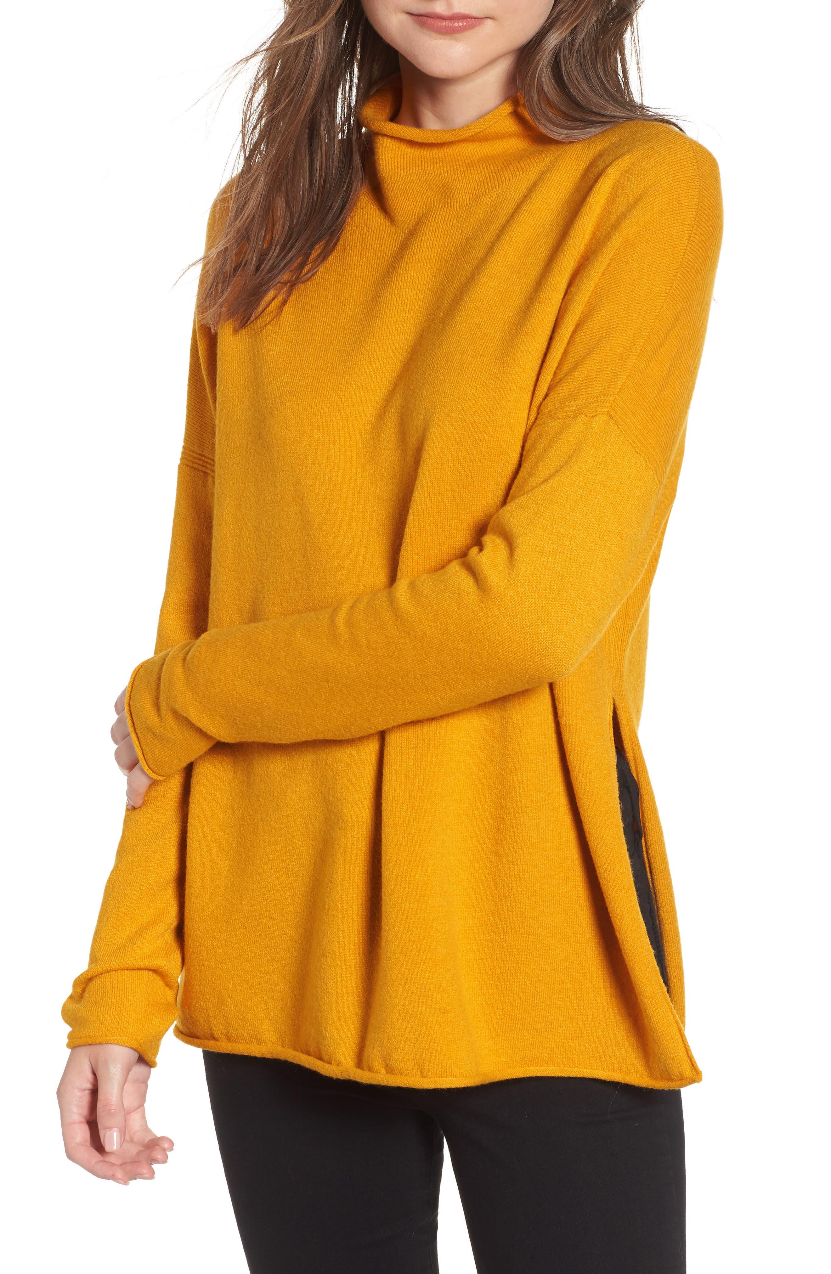 Ebba Sweater,                         Main,                         color, CALLUNA YELLOW