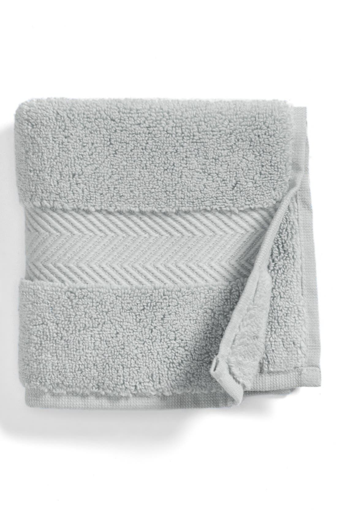 Hydrocotton Washcloth,                             Main thumbnail 1, color,                             GREY VAPOR