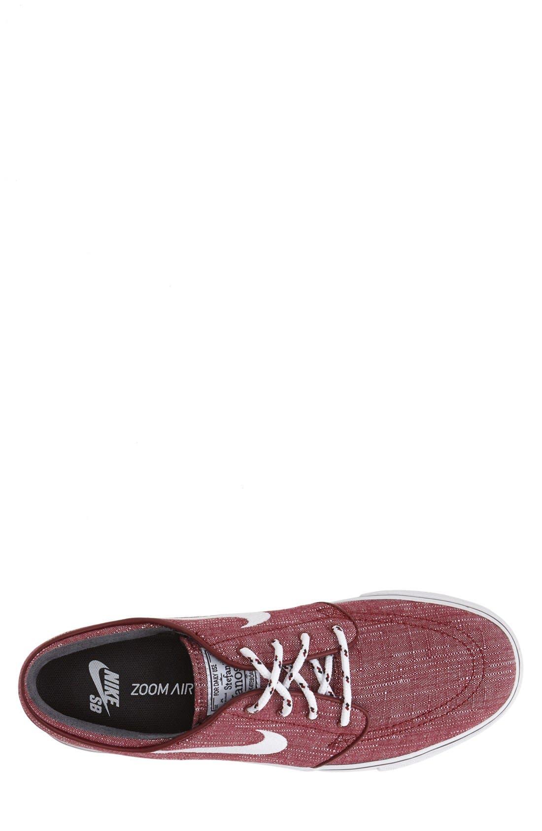 Zoom - Stefan Janoski SB Canvas Skate Shoe,                             Alternate thumbnail 127, color,
