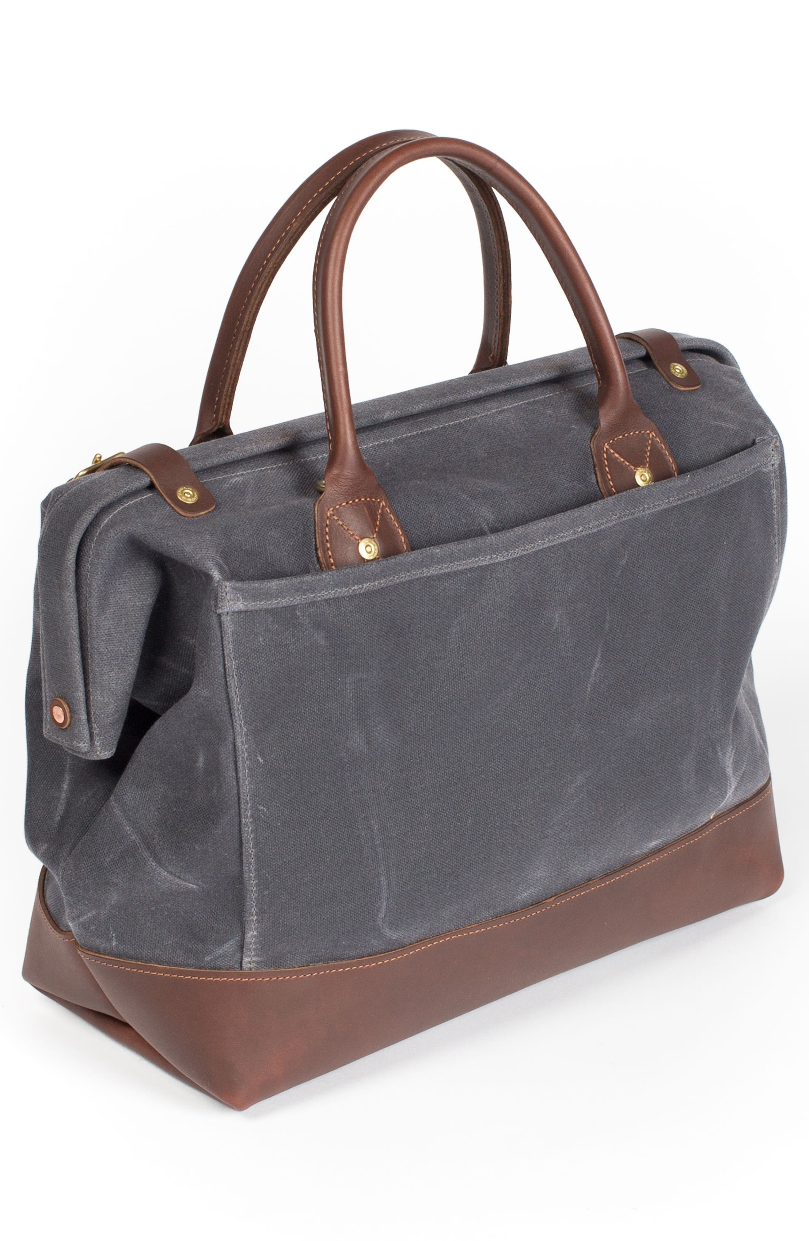 Carpenter Waxed Canvas Bag,                             Alternate thumbnail 2, color,                             021