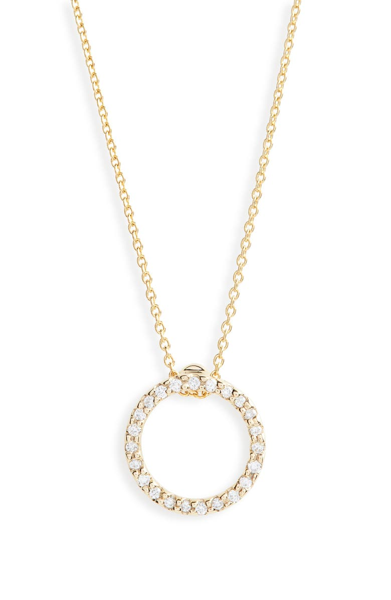 Roberto Coin XS DIAMOND PENDANT NECKLACE